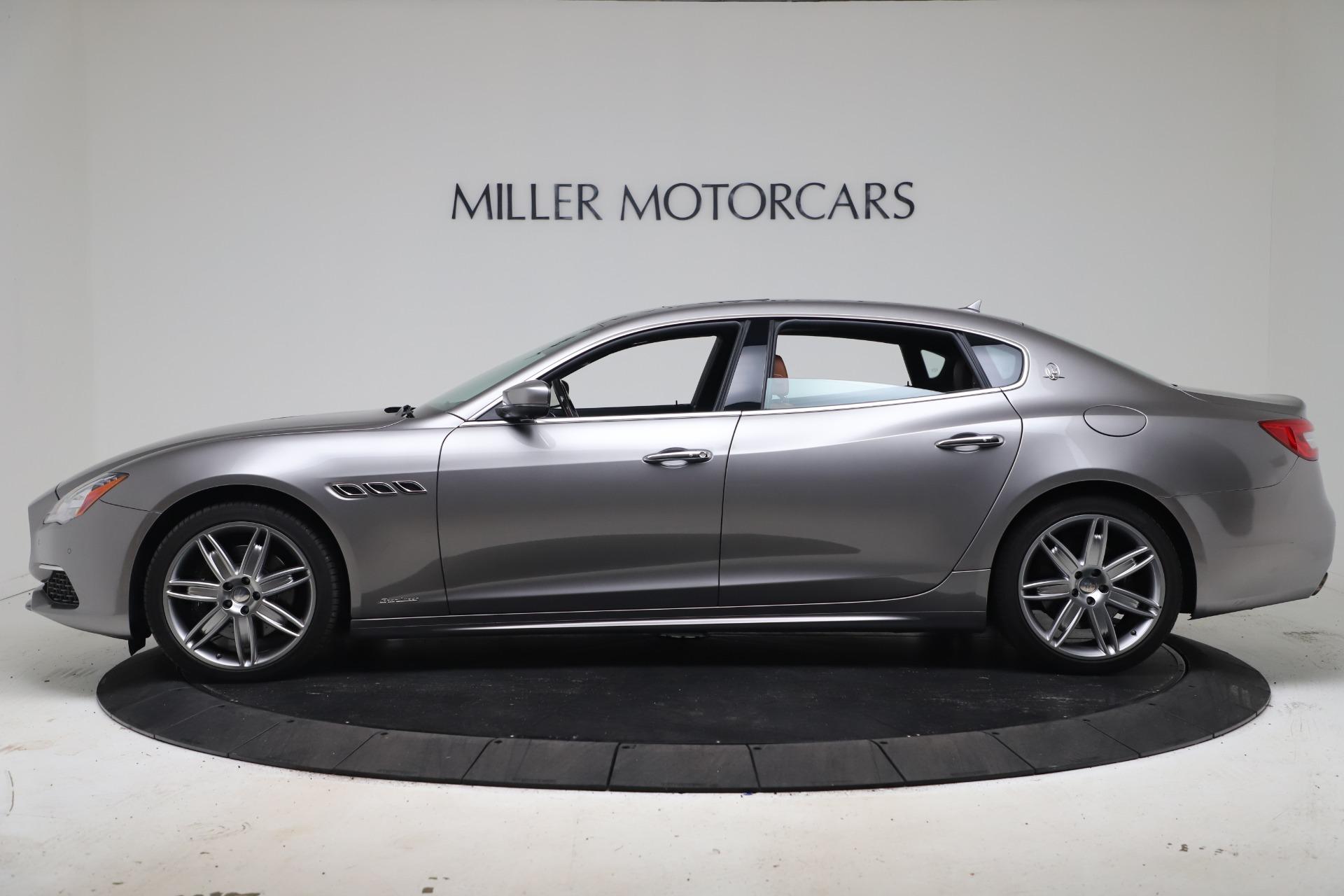 New 2017 Maserati Quattroporte SQ4 GranLusso/ Zegna For Sale In Greenwich, CT 1355_p3