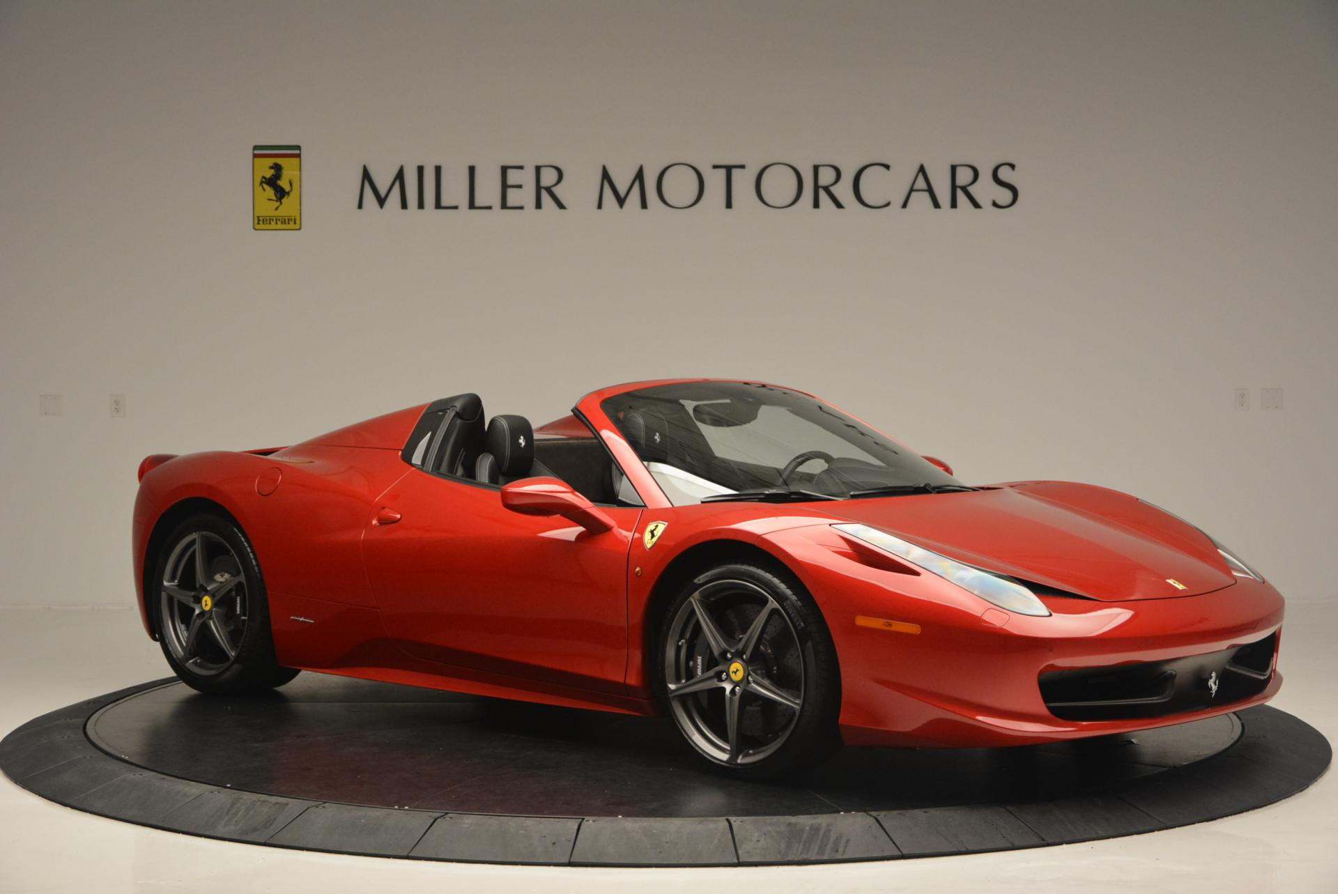 Used 2013 Ferrari 458 Spider  For Sale In Greenwich, CT 136_p10