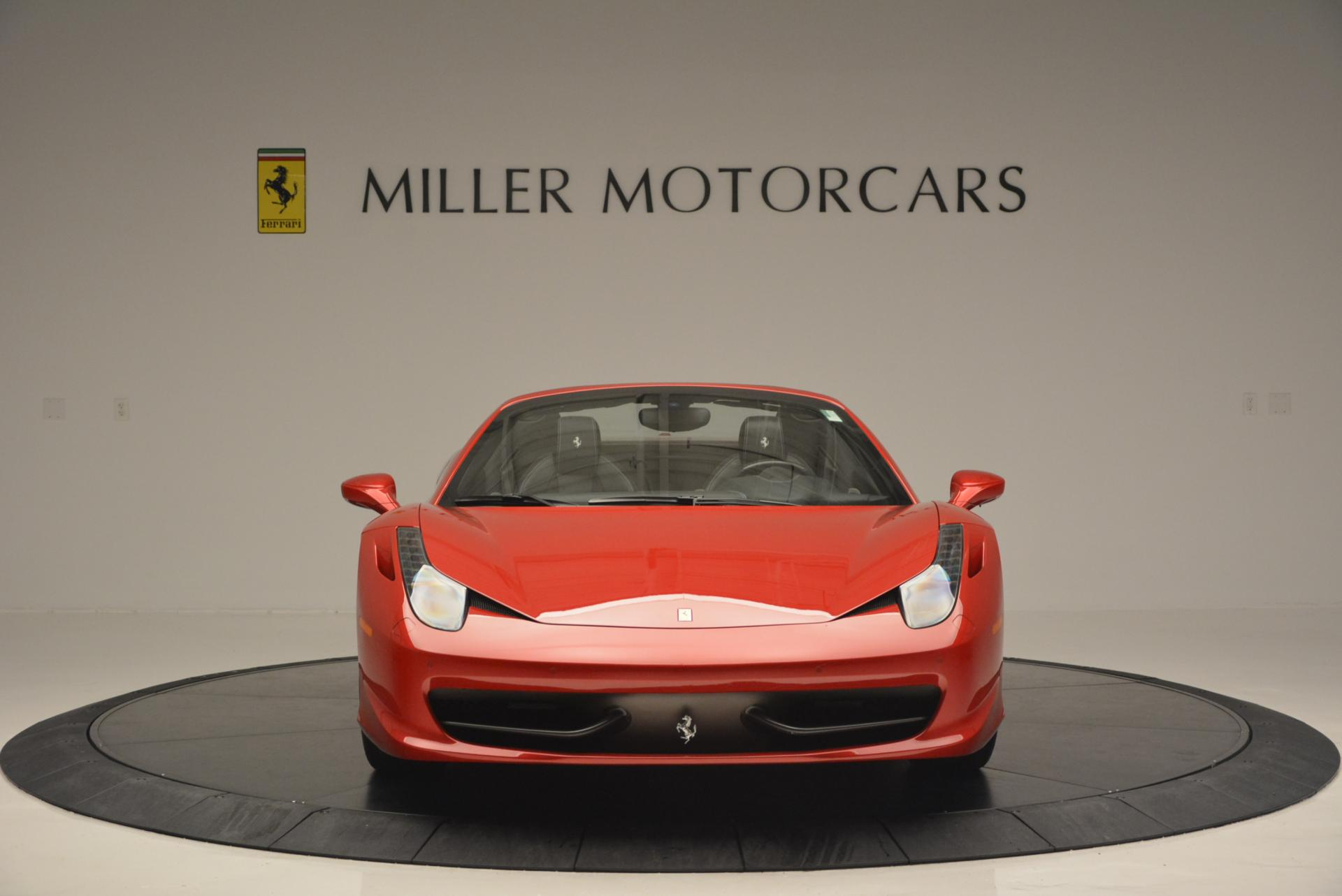 Used 2013 Ferrari 458 Spider  For Sale In Greenwich, CT 136_p12