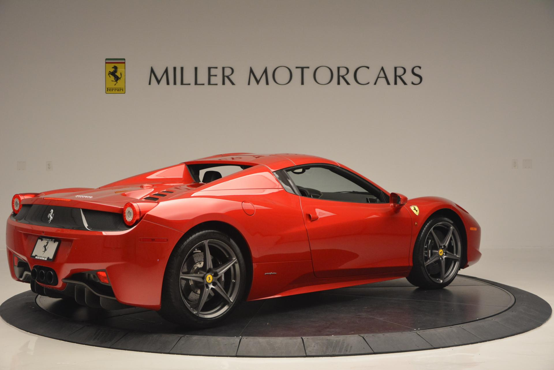 Used 2013 Ferrari 458 Spider  For Sale In Greenwich, CT 136_p20