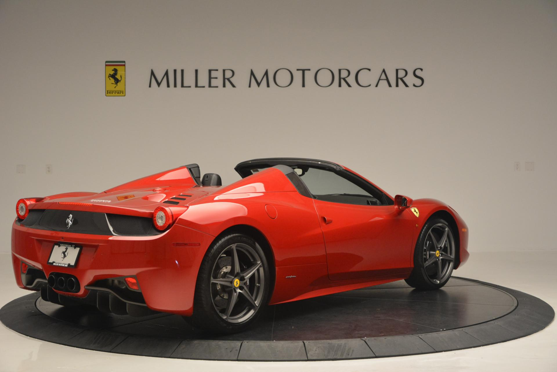 Used 2013 Ferrari 458 Spider  For Sale In Greenwich, CT 136_p8