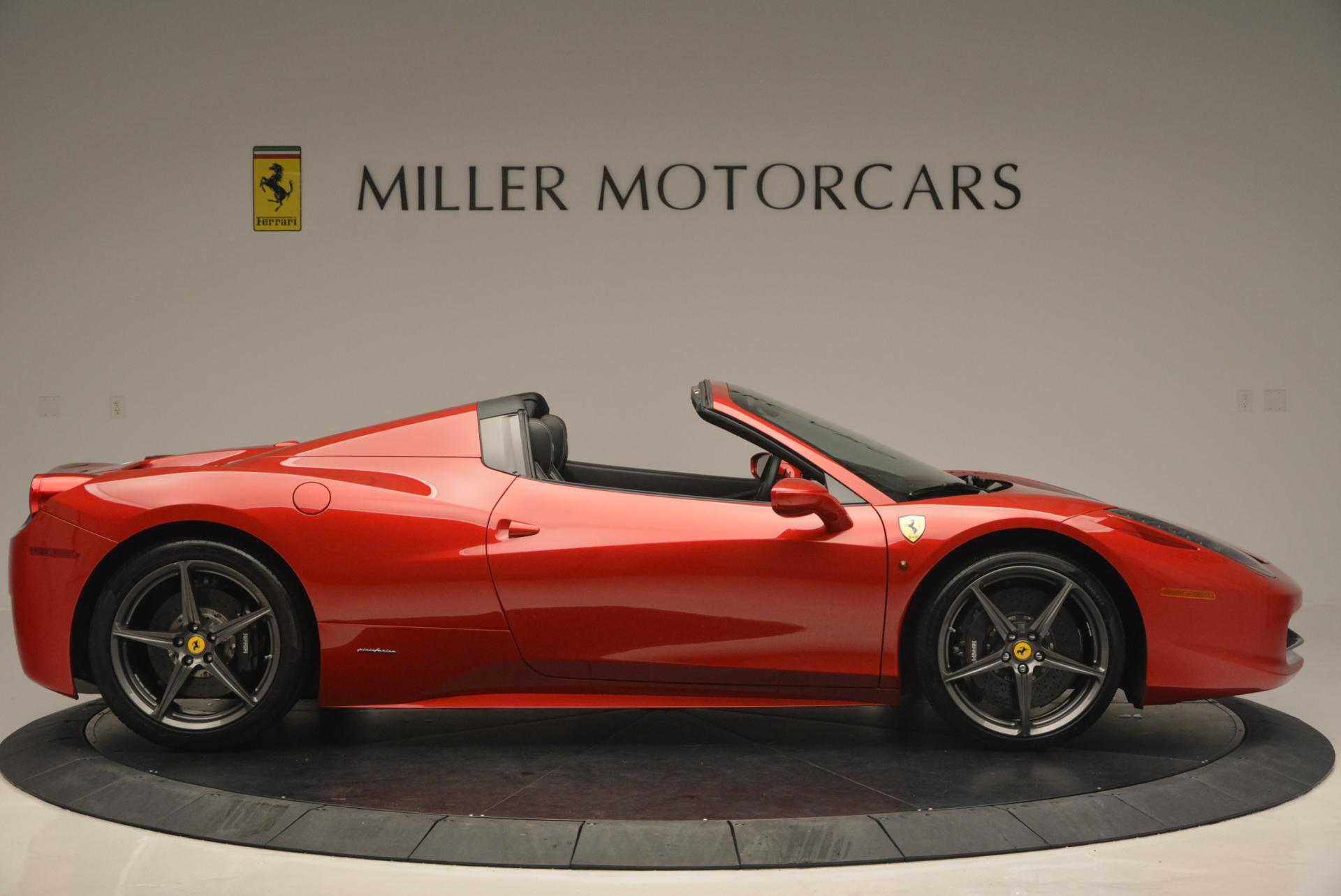 Used 2013 Ferrari 458 Spider  For Sale In Greenwich, CT 136_p9