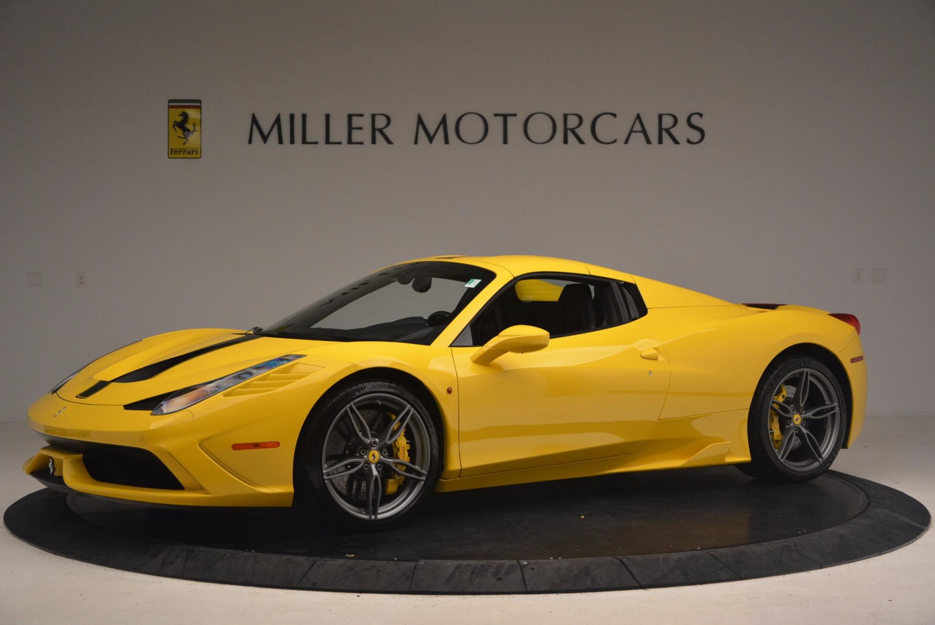 Used 2015 Ferrari 458 Speciale Aperta  For Sale In Greenwich, CT 1360_p14