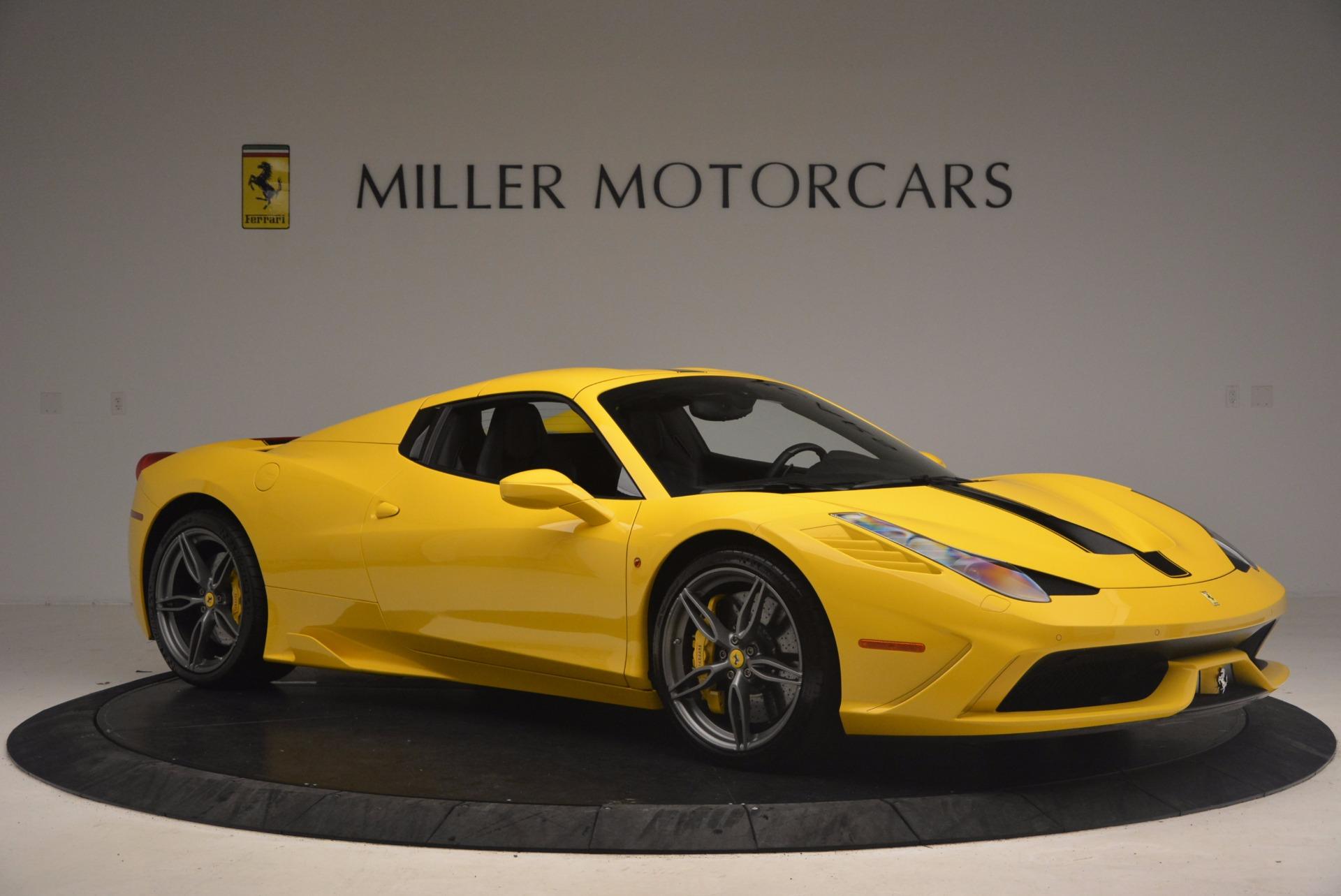 Used 2015 Ferrari 458 Speciale Aperta  For Sale In Greenwich, CT 1360_p22