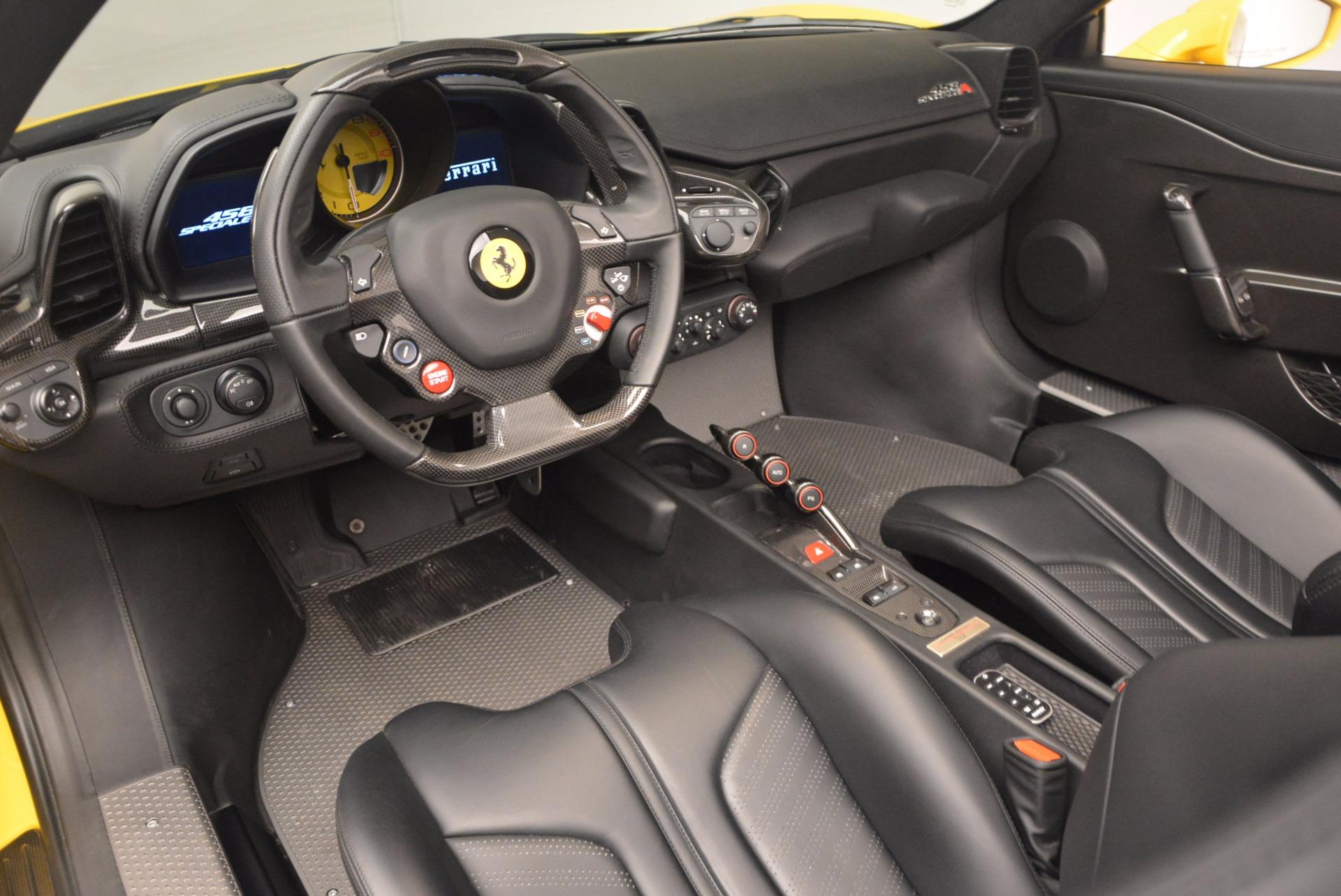 Used 2015 Ferrari 458 Speciale Aperta  For Sale In Greenwich, CT 1360_p25