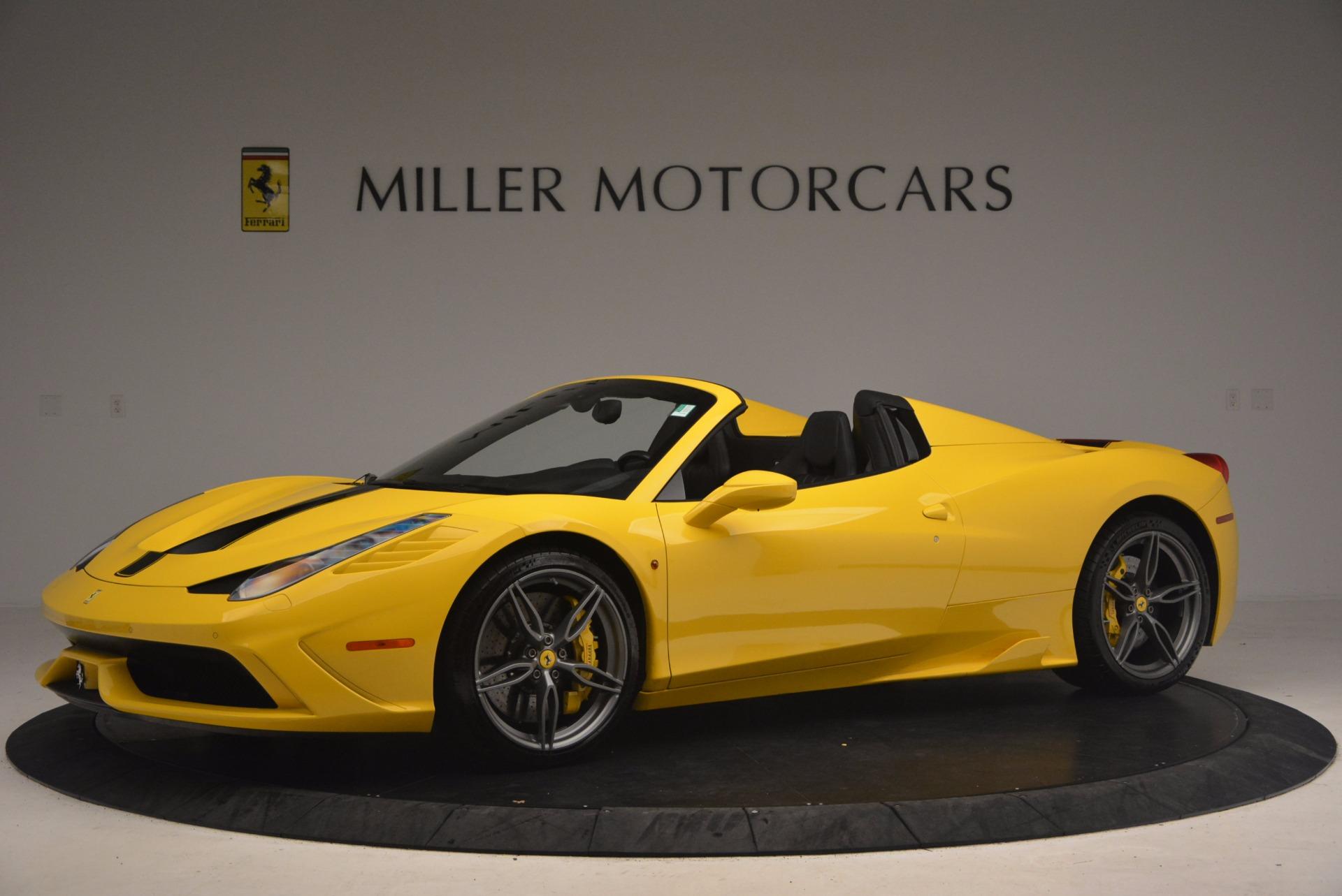 Used 2015 Ferrari 458 Speciale Aperta  For Sale In Greenwich, CT 1360_p2