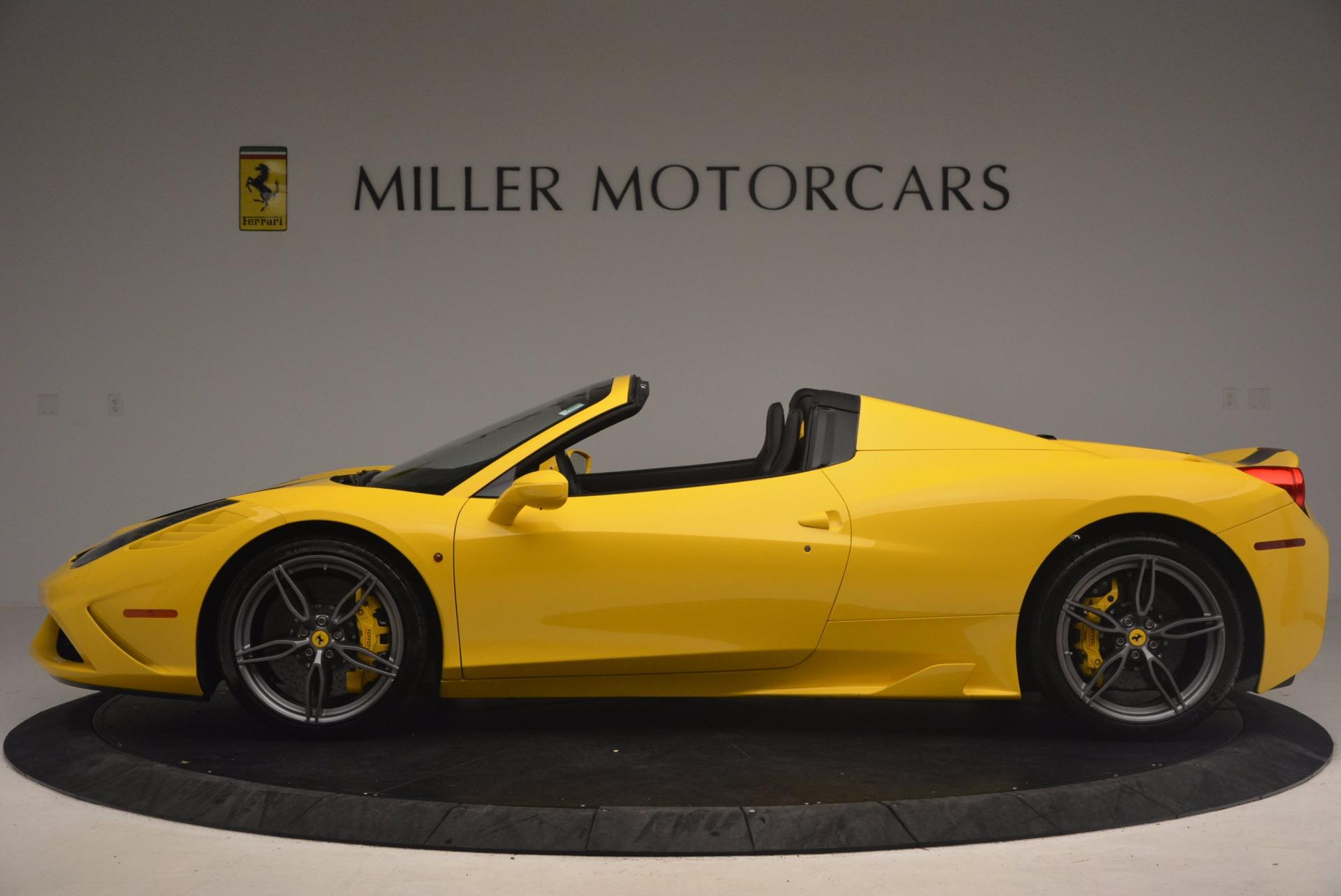 Used 2015 Ferrari 458 Speciale Aperta  For Sale In Greenwich, CT 1360_p3