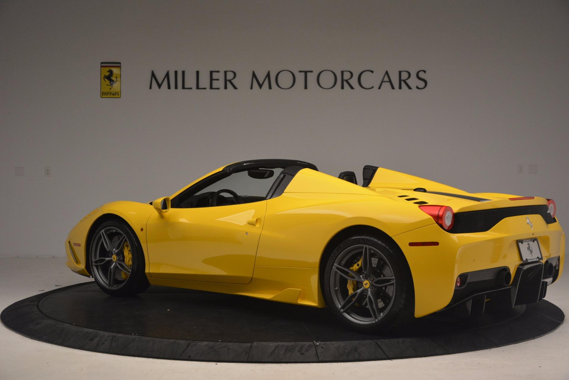 Used 2015 Ferrari 458 Speciale Aperta  For Sale In Greenwich, CT 1360_p4