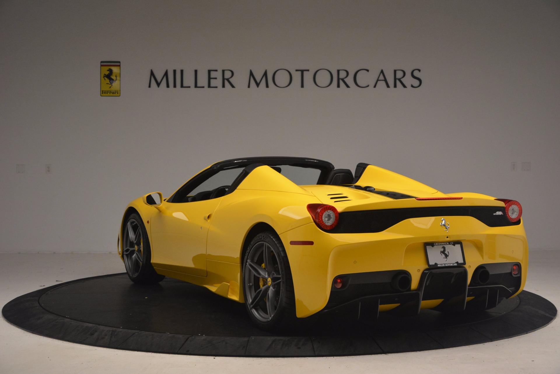 Used 2015 Ferrari 458 Speciale Aperta  For Sale In Greenwich, CT 1360_p5