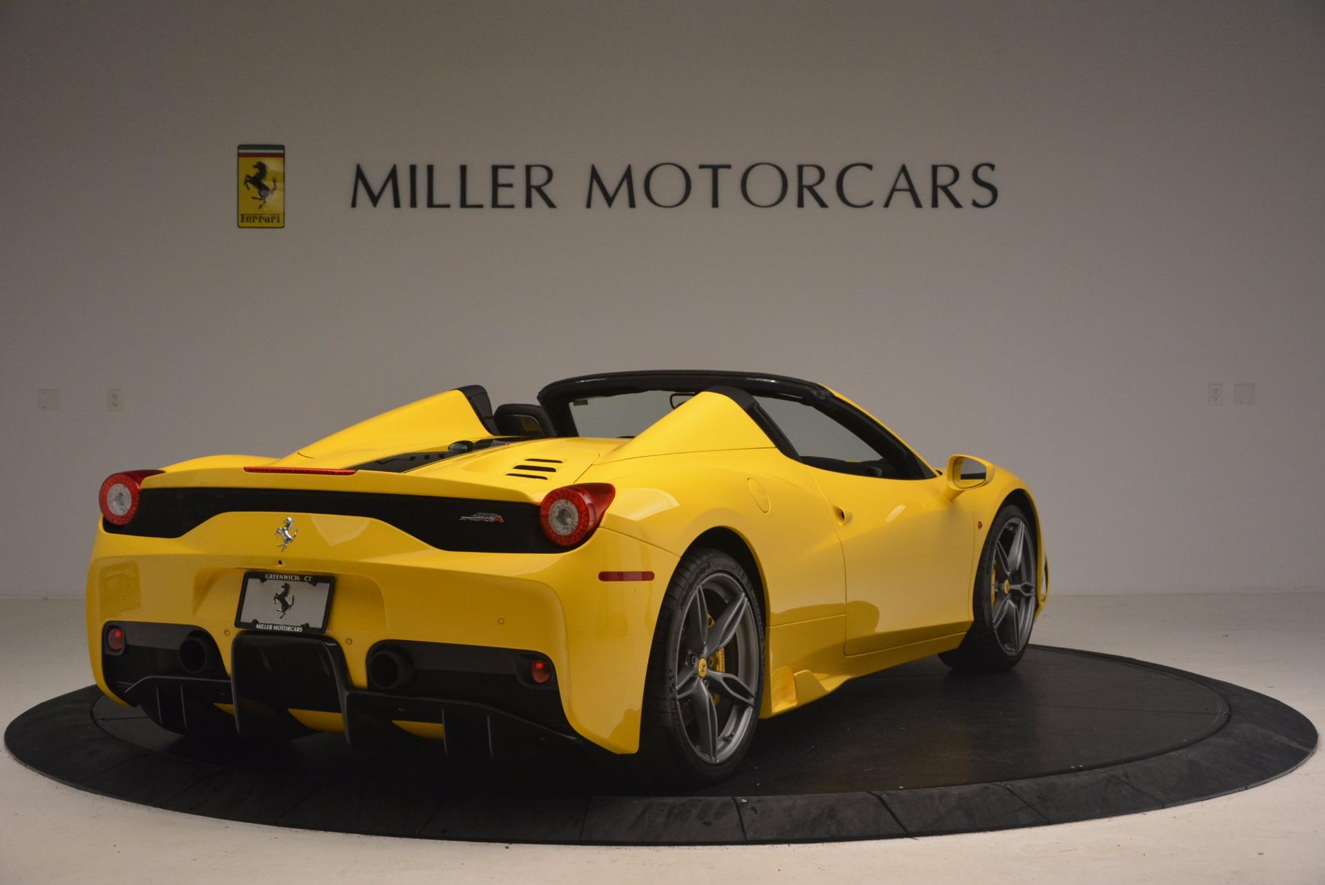 Used 2015 Ferrari 458 Speciale Aperta  For Sale In Greenwich, CT 1360_p7