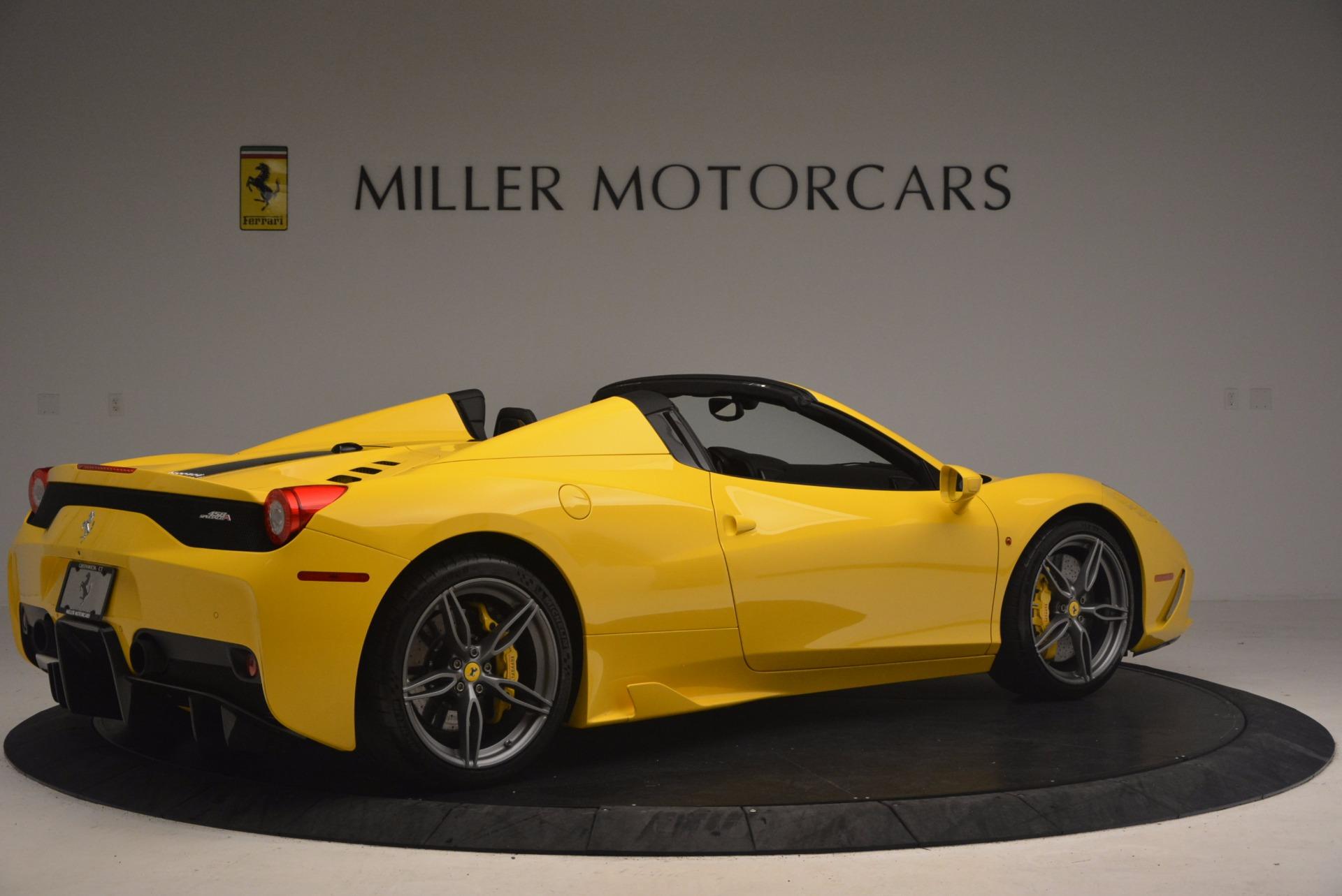 Used 2015 Ferrari 458 Speciale Aperta  For Sale In Greenwich, CT 1360_p8