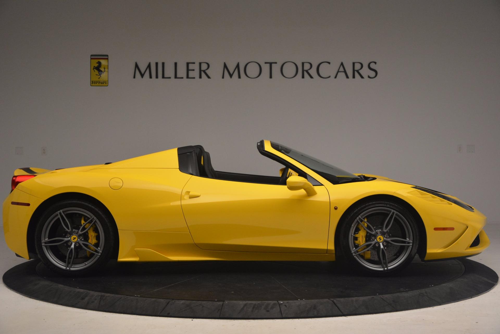 Used 2015 Ferrari 458 Speciale Aperta  For Sale In Greenwich, CT 1360_p9