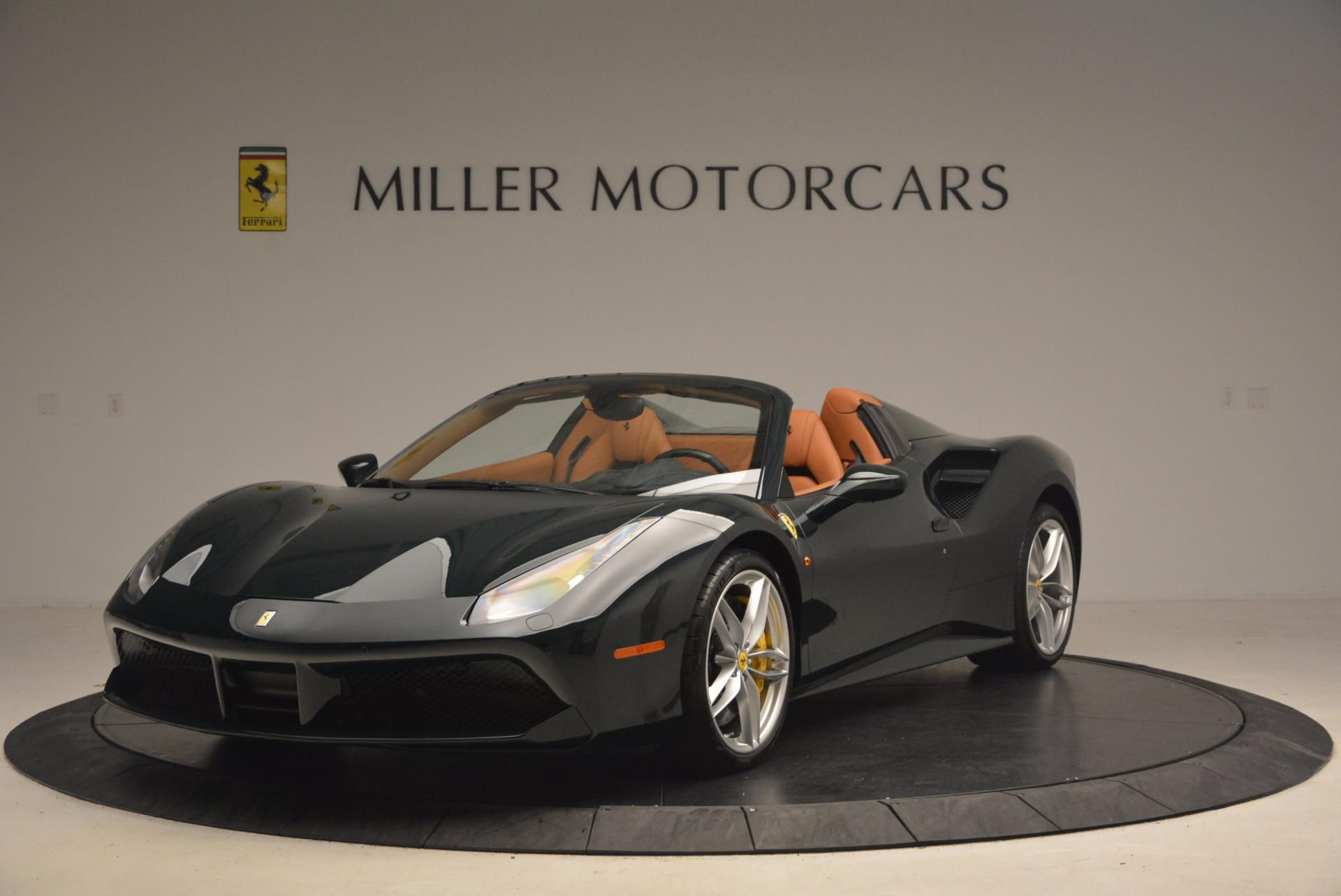 Used 2016 Ferrari 488 Spider  For Sale In Greenwich, CT 1361_main