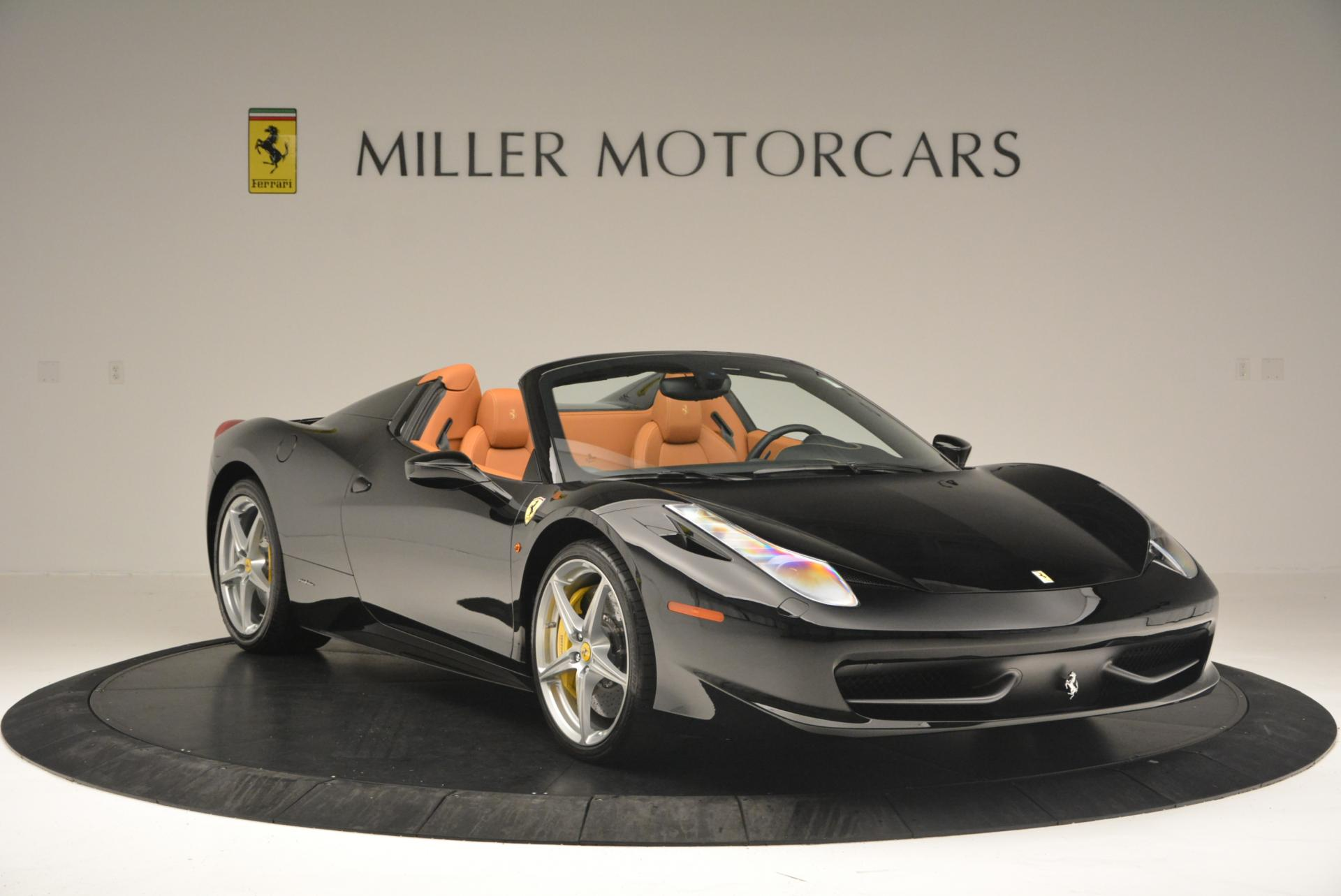 Used 2015 Ferrari 458 Spider  For Sale In Greenwich, CT 137_p11
