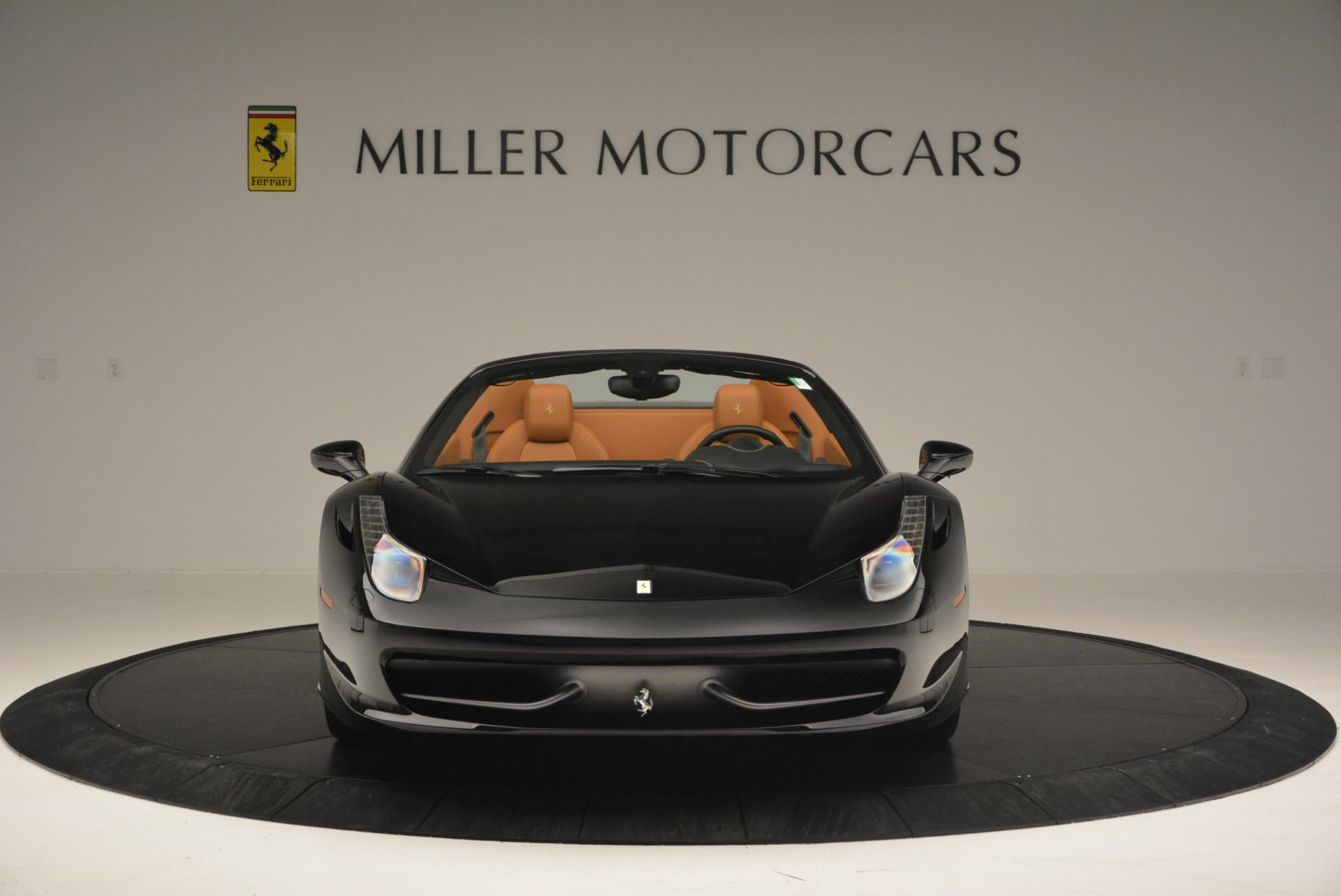 Used 2015 Ferrari 458 Spider  For Sale In Greenwich, CT 137_p12
