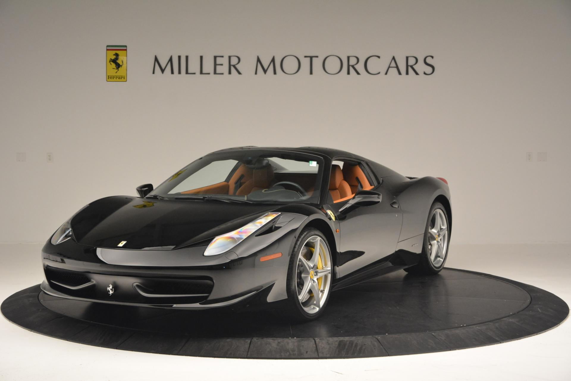 Used 2015 Ferrari 458 Spider  For Sale In Greenwich, CT 137_p13