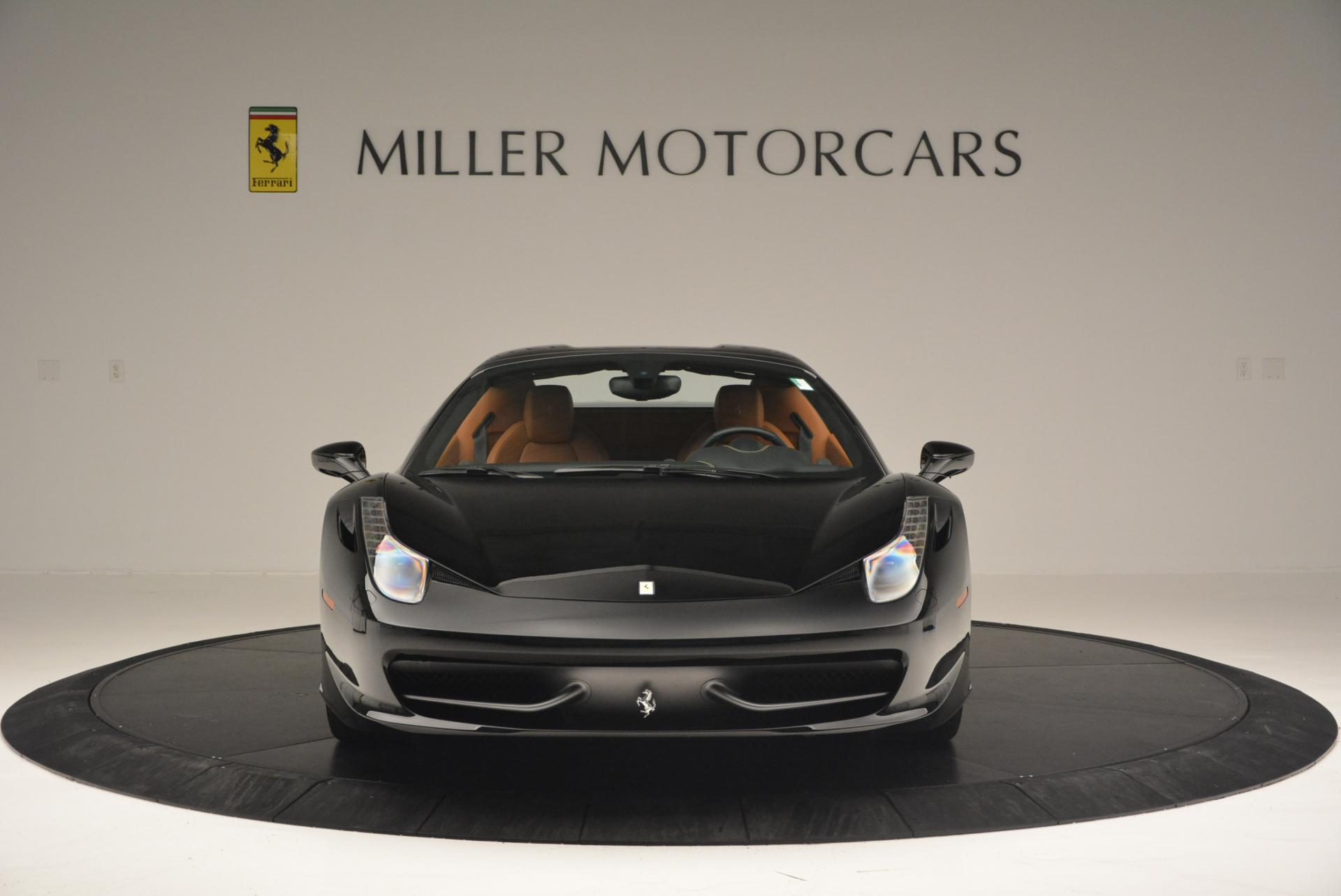 Used 2015 Ferrari 458 Spider  For Sale In Greenwich, CT 137_p24