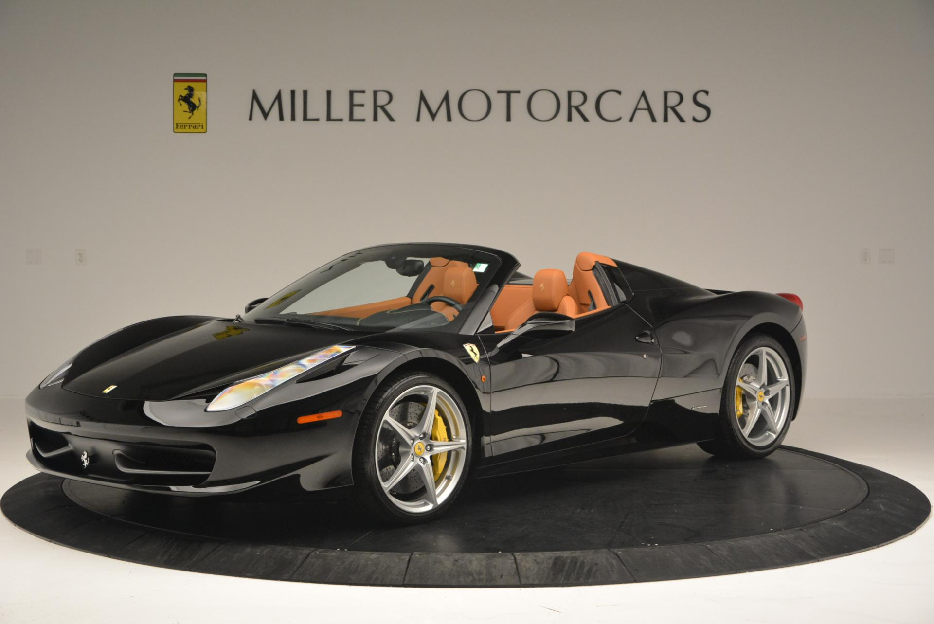 Used 2015 Ferrari 458 Spider  For Sale In Greenwich, CT 137_p2