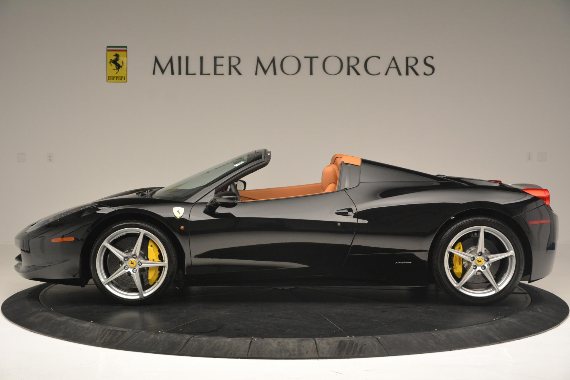 Used 2015 Ferrari 458 Spider  For Sale In Greenwich, CT 137_p3