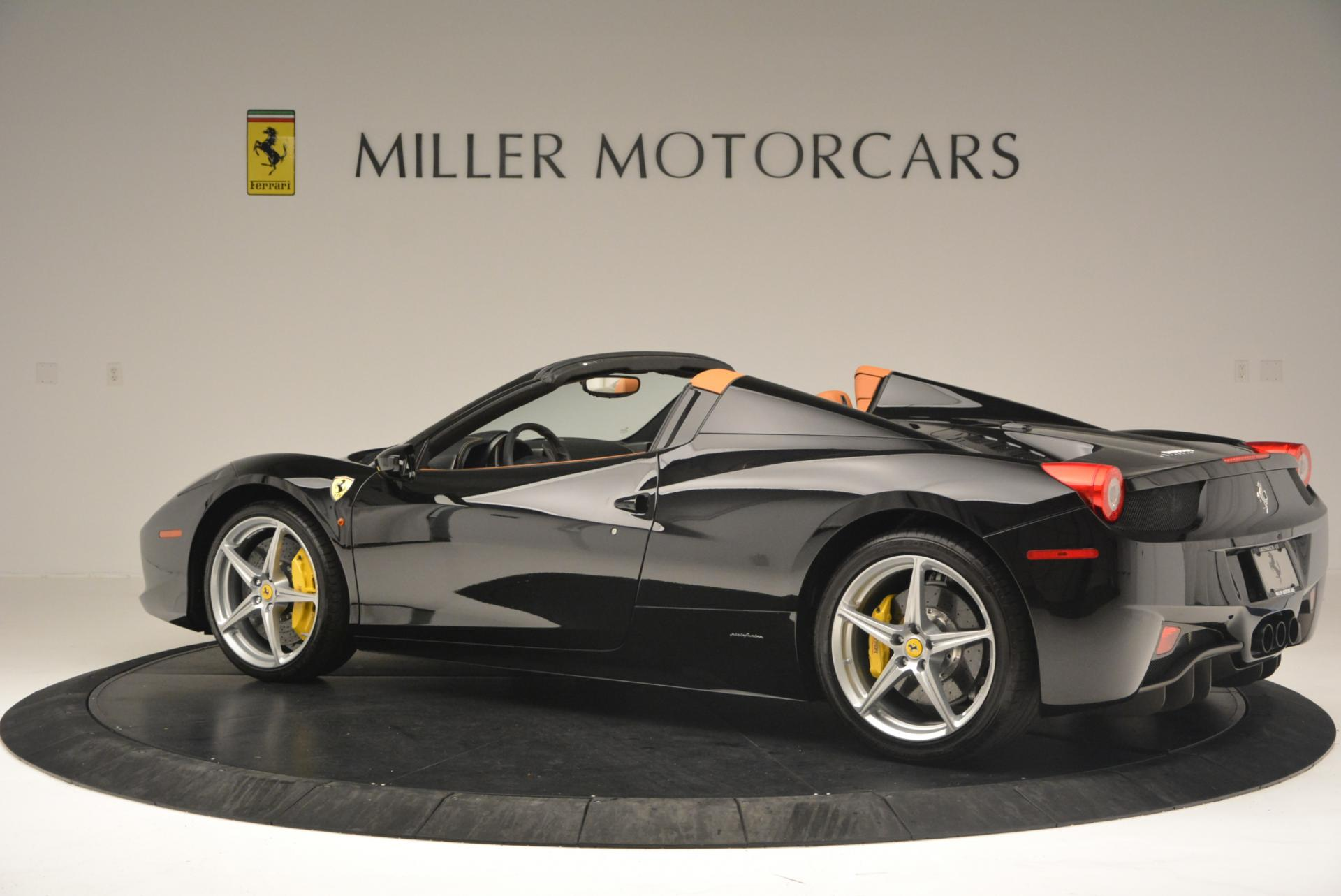 Used 2015 Ferrari 458 Spider  For Sale In Greenwich, CT 137_p4