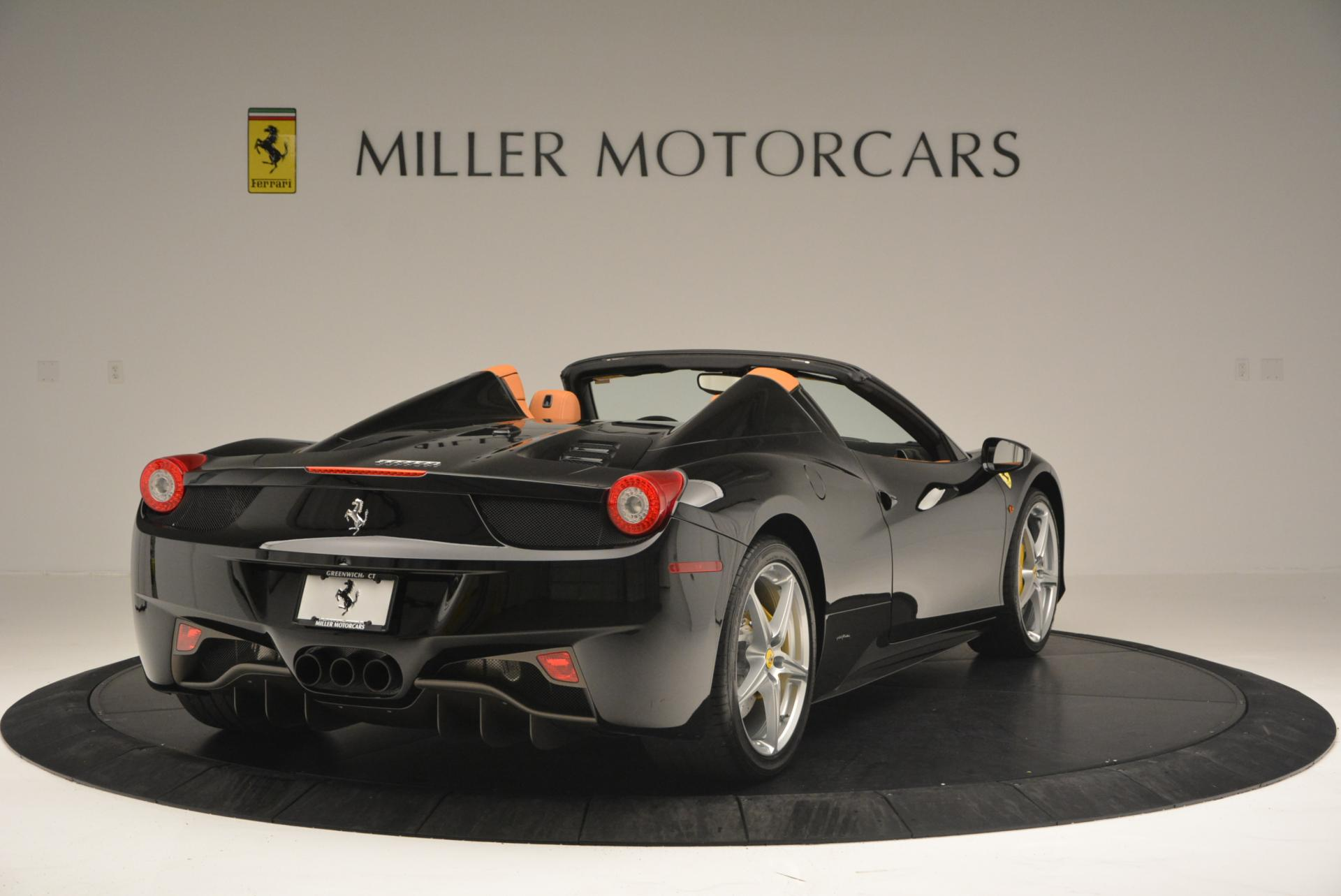 Used 2015 Ferrari 458 Spider  For Sale In Greenwich, CT 137_p7