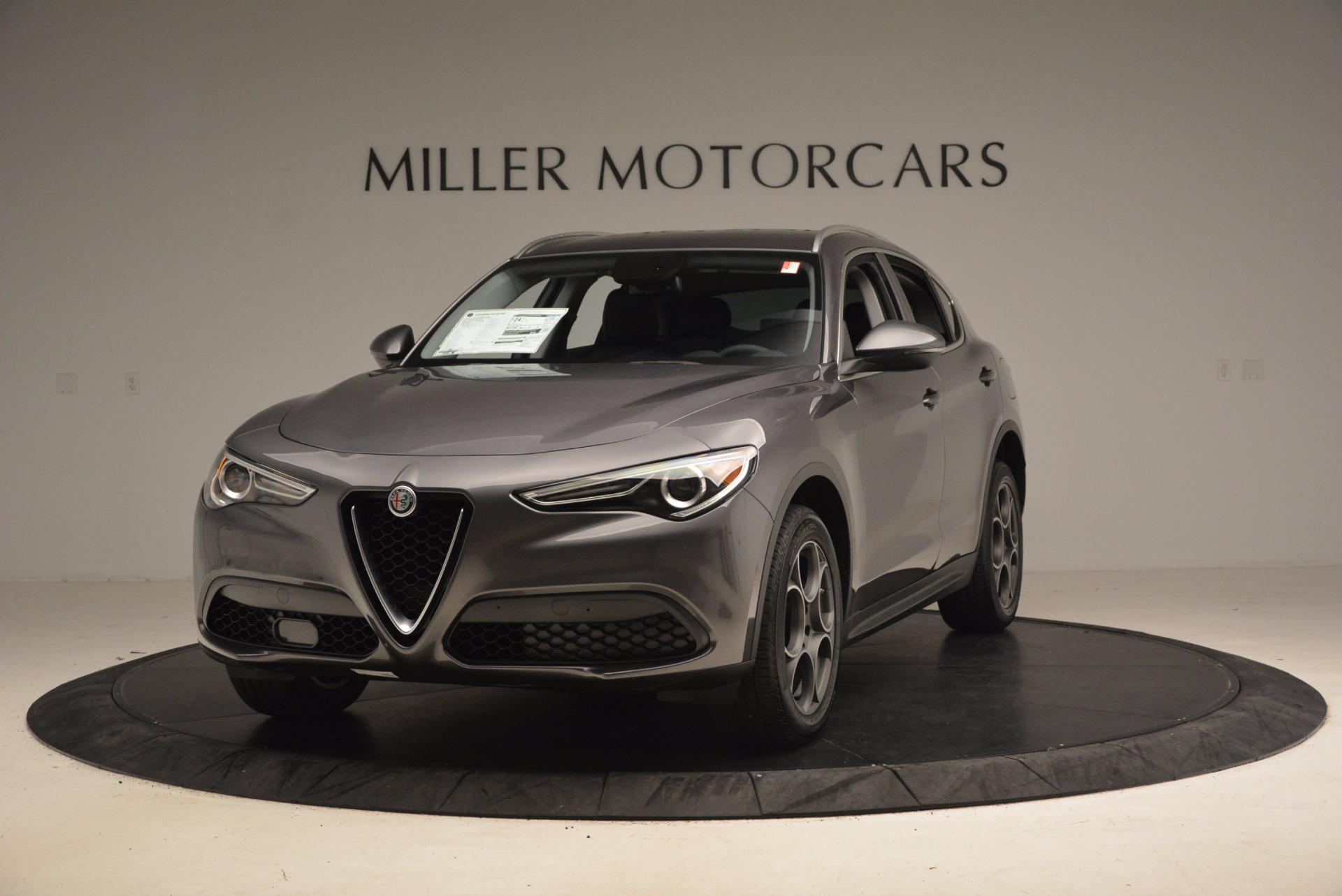 New 2018 Alfa Romeo Stelvio Q4 For Sale In Greenwich, CT 1376_main
