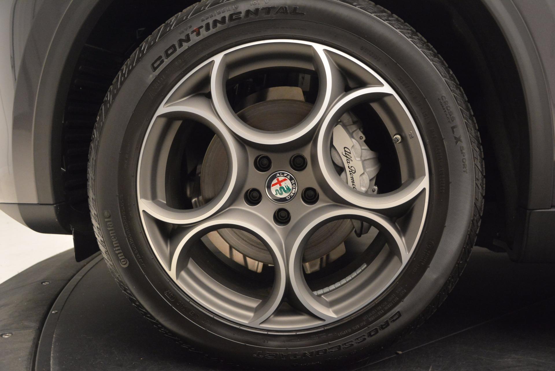 New 2018 Alfa Romeo Stelvio Q4 For Sale In Greenwich, CT 1376_p25