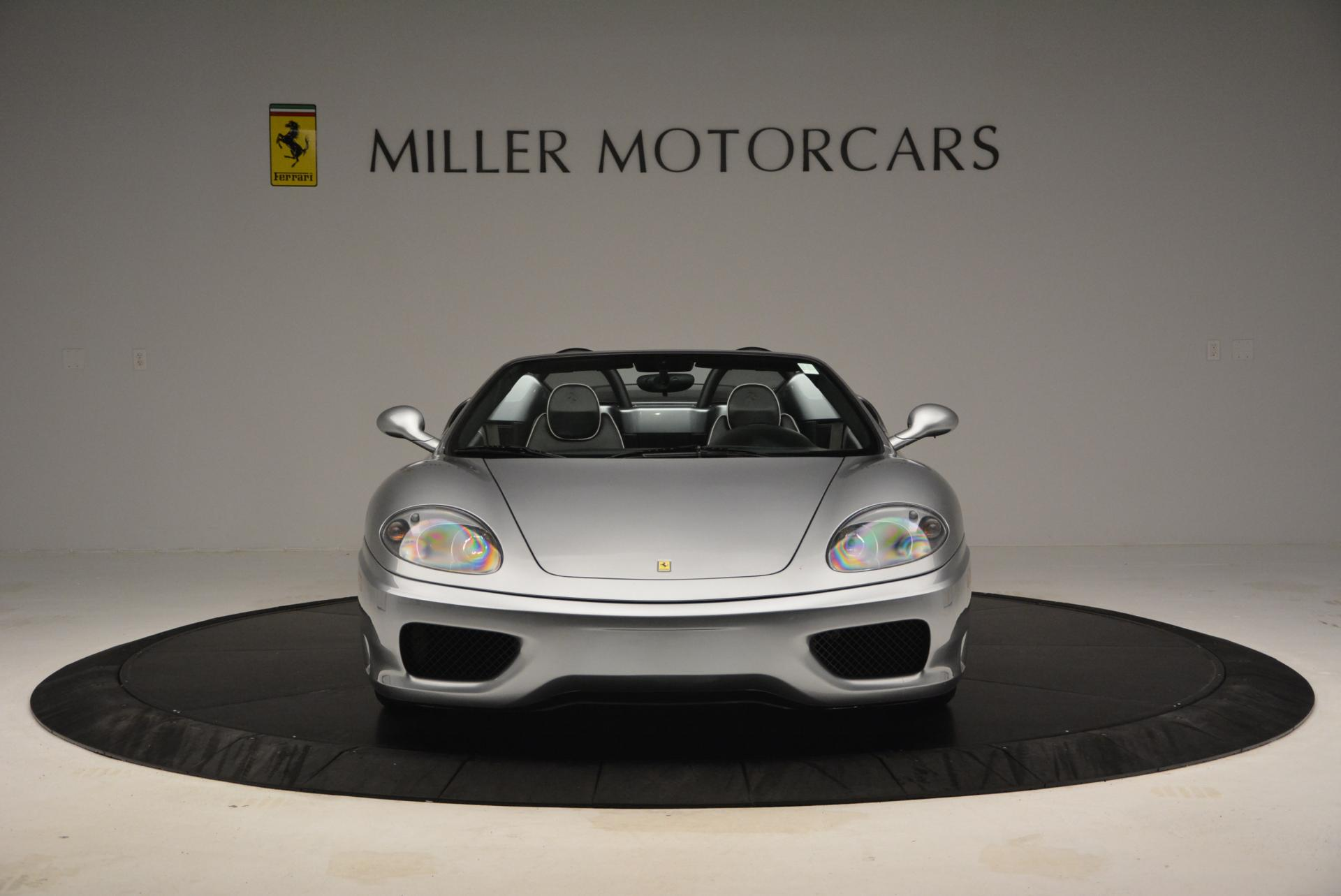 Used 2004 Ferrari 360 Spider 6-Speed Manual  For Sale In Greenwich, CT 138_p12