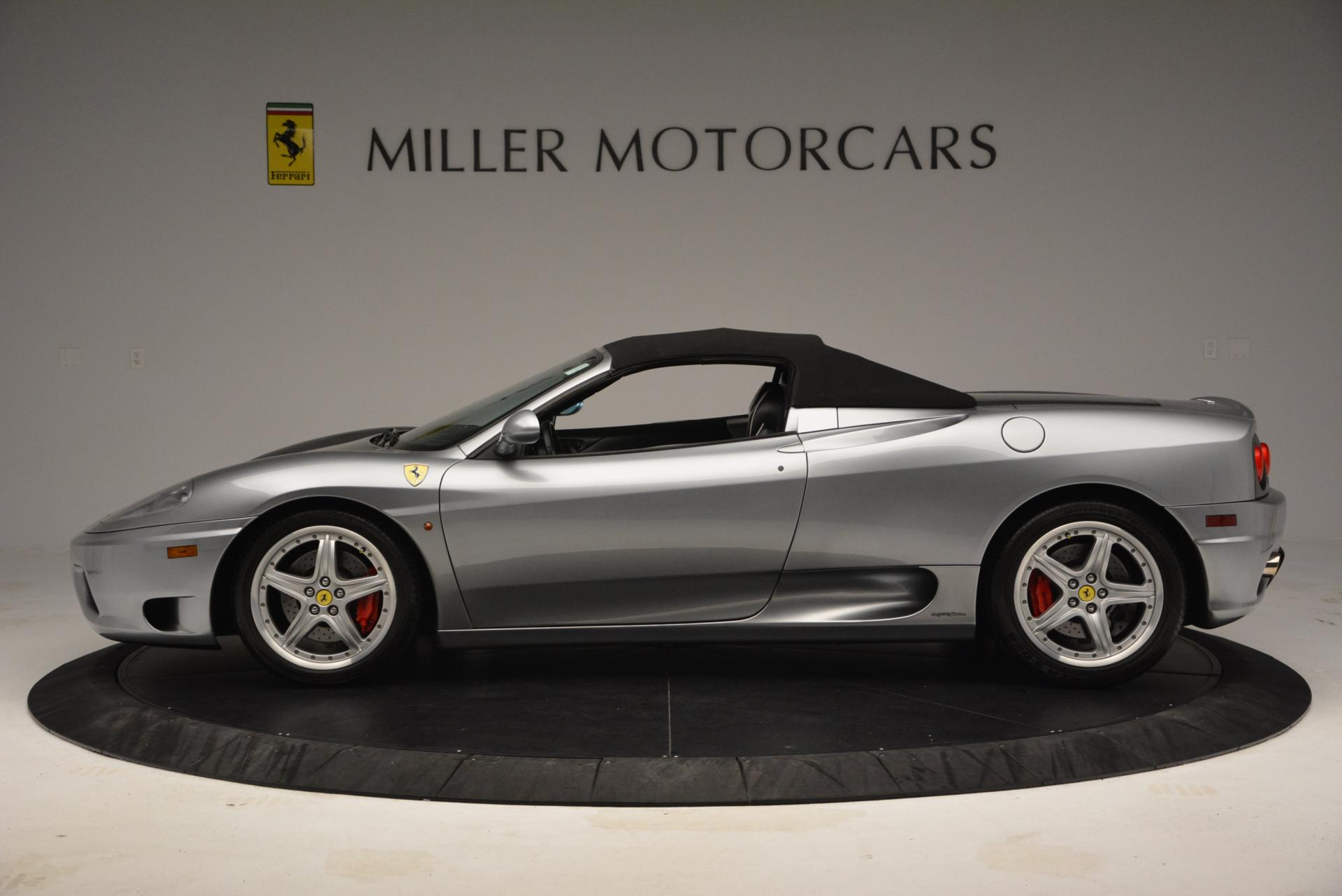Used 2004 Ferrari 360 Spider 6-Speed Manual  For Sale In Greenwich, CT 138_p15