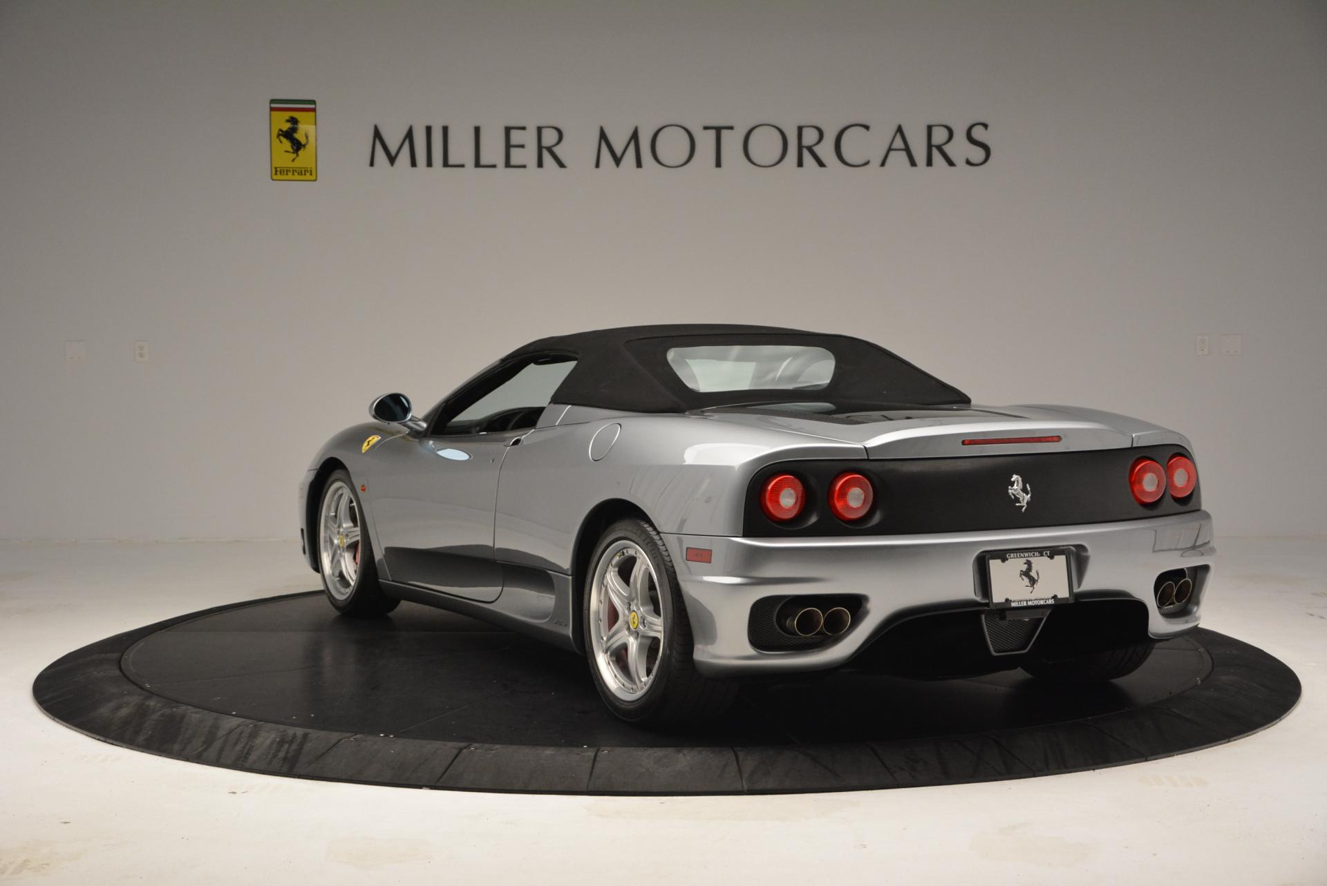 Used 2004 Ferrari 360 Spider 6-Speed Manual  For Sale In Greenwich, CT 138_p17