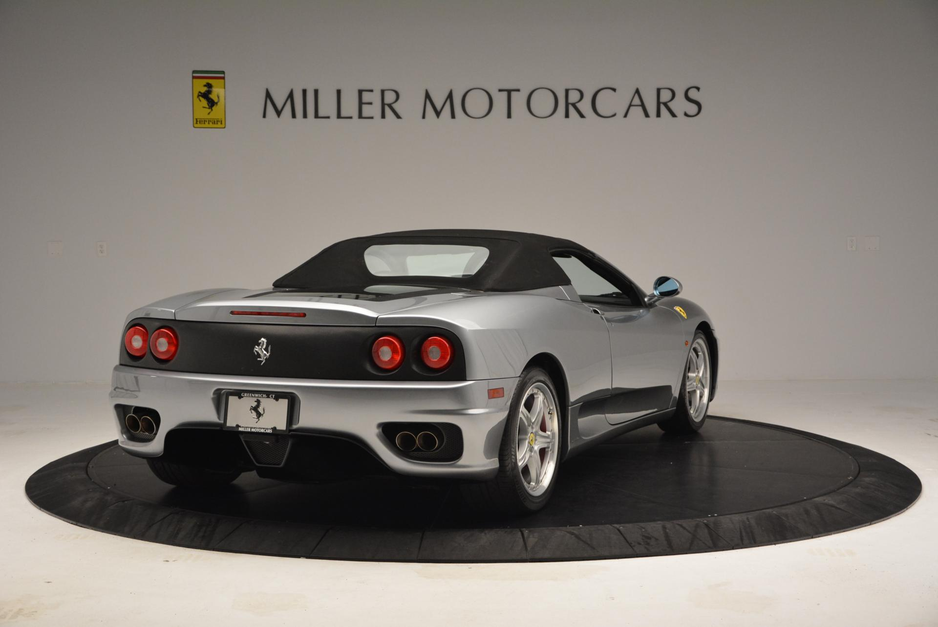 Used 2004 Ferrari 360 Spider 6-Speed Manual  For Sale In Greenwich, CT 138_p19