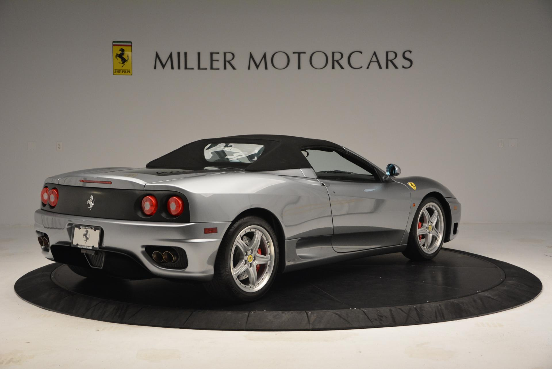 Used 2004 Ferrari 360 Spider 6-Speed Manual  For Sale In Greenwich, CT 138_p20