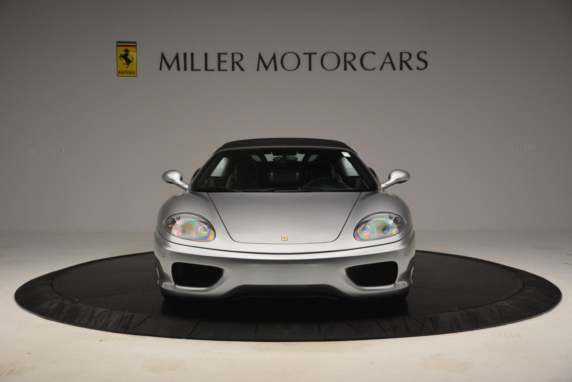 Used 2004 Ferrari 360 Spider 6-Speed Manual  For Sale In Greenwich, CT 138_p24