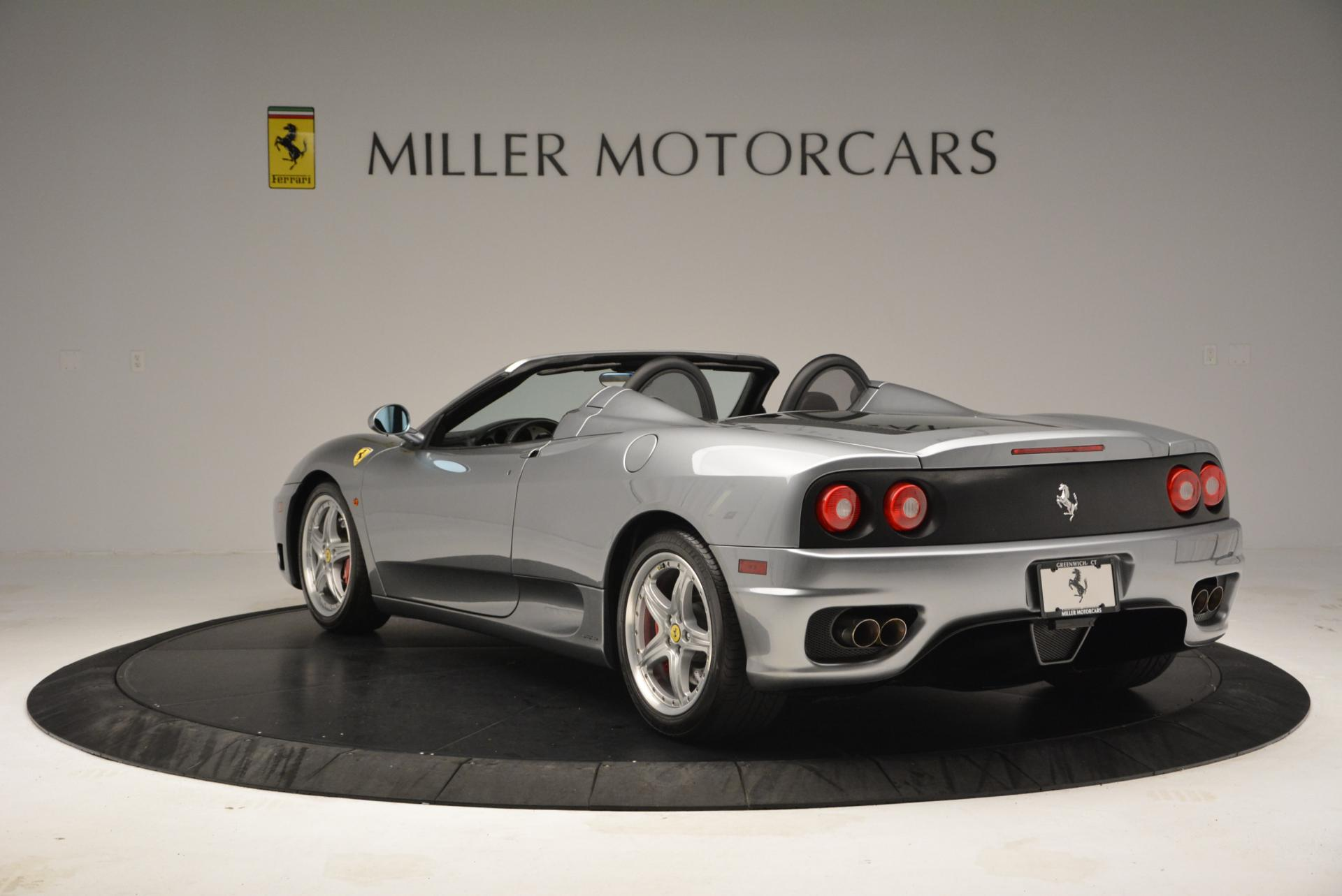 Used 2004 Ferrari 360 Spider 6-Speed Manual  For Sale In Greenwich, CT 138_p5
