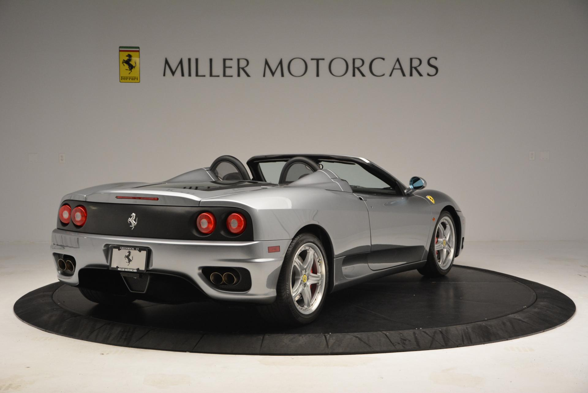 Used 2004 Ferrari 360 Spider 6-Speed Manual  For Sale In Greenwich, CT 138_p7