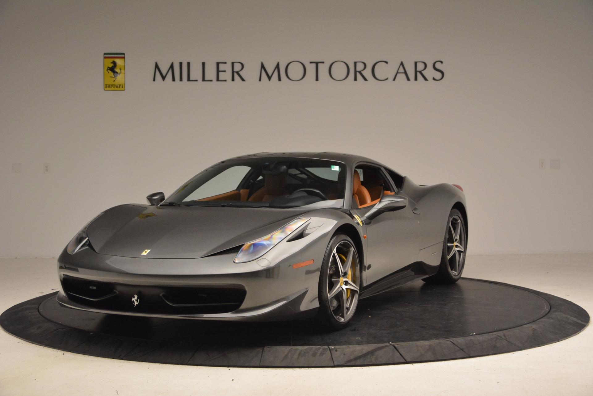 Used 2011 Ferrari 458 Italia  For Sale In Greenwich, CT 1385_main
