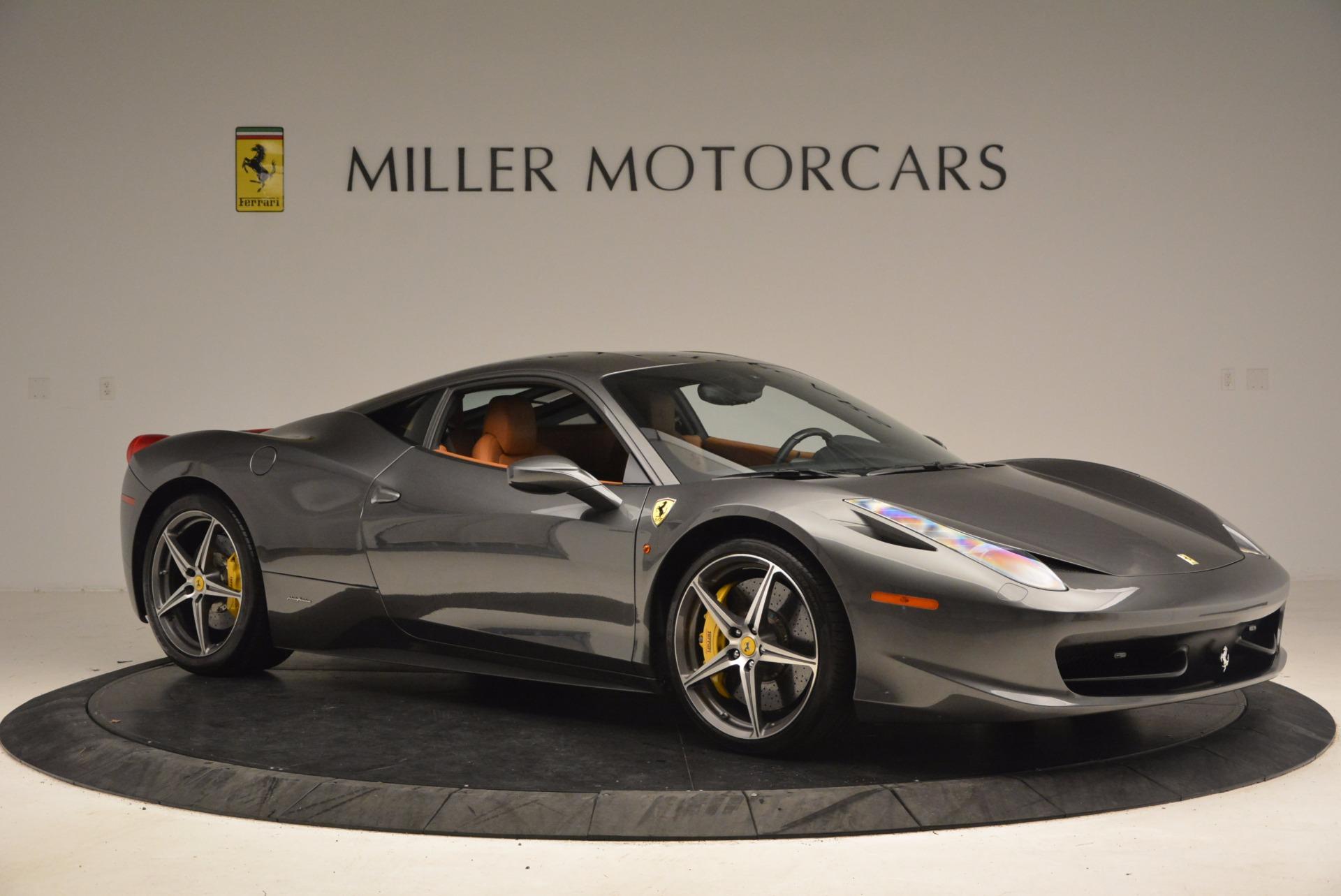 Used 2011 Ferrari 458 Italia  For Sale In Greenwich, CT 1385_p10