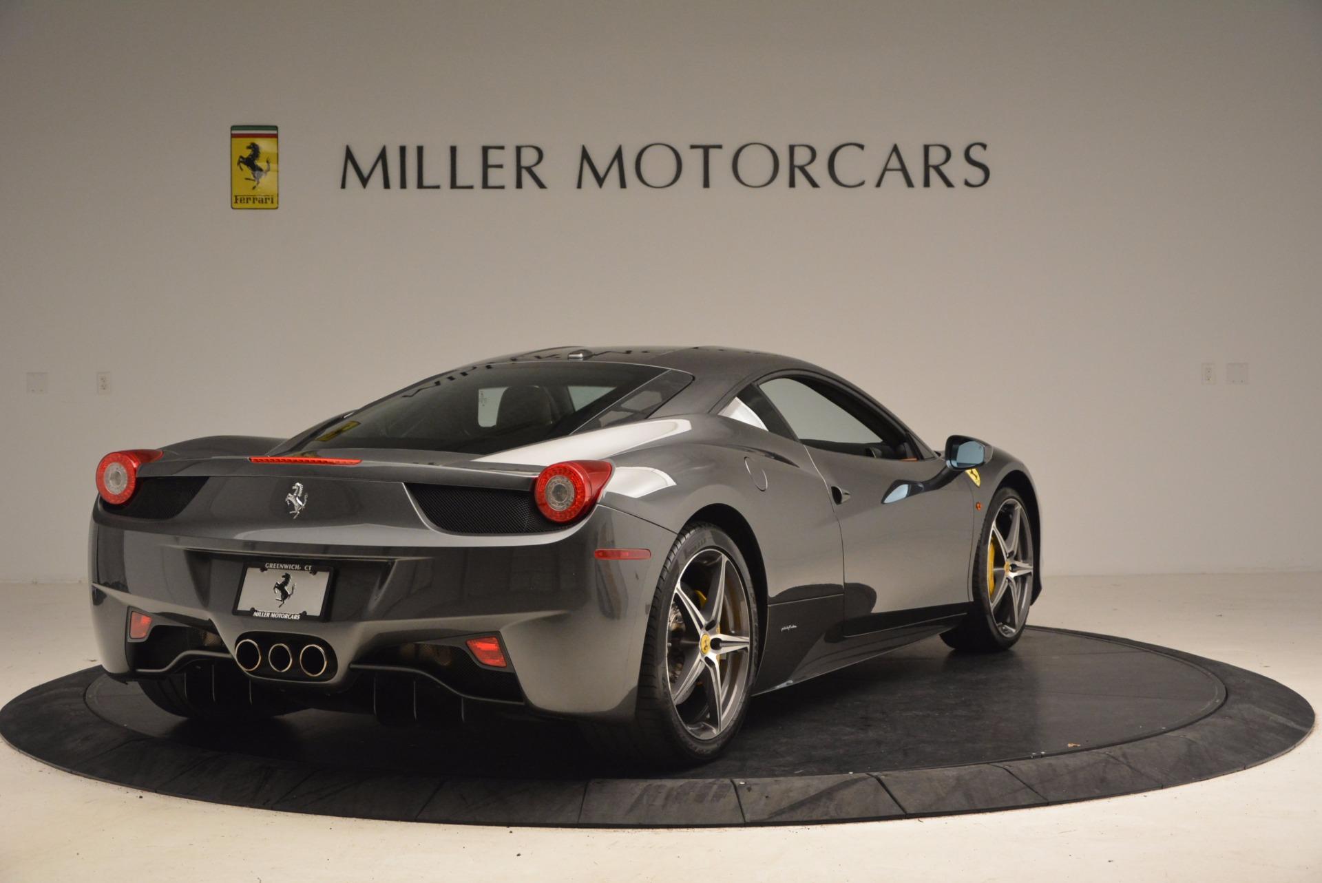 Used 2011 Ferrari 458 Italia  For Sale In Greenwich, CT 1385_p7