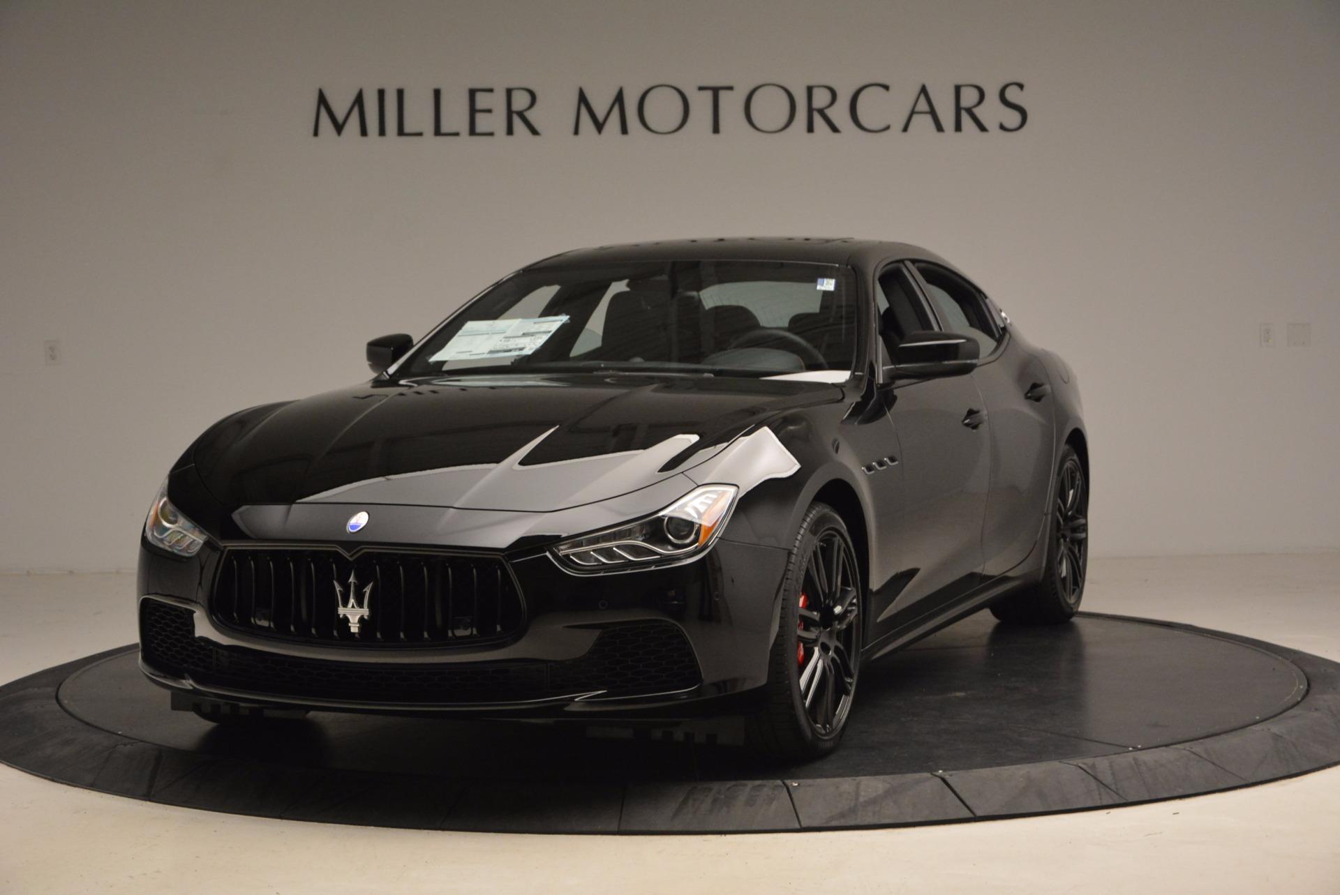 New 2017 Maserati Ghibli Nerissimo Edition S Q4 For Sale In Greenwich, CT 1391_main