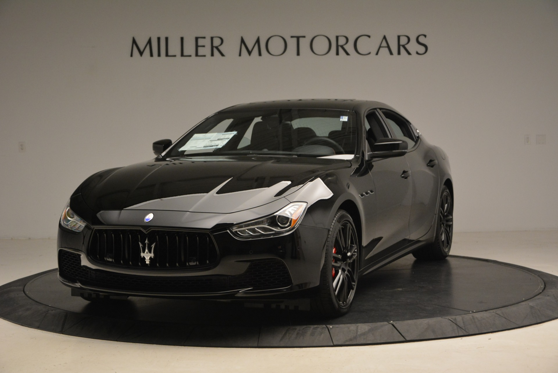 New 2017 Maserati Ghibli Nerissimo Edition S Q4 For Sale In Greenwich, CT 1405_main