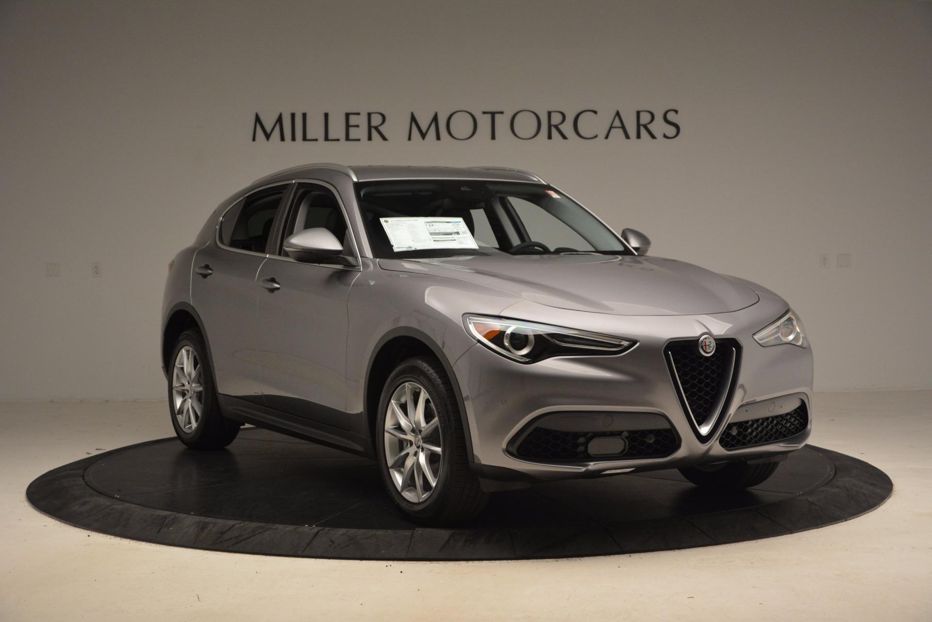 New 2018 Alfa Romeo Stelvio Ti Q4 For Sale In Greenwich, CT 1409_p11