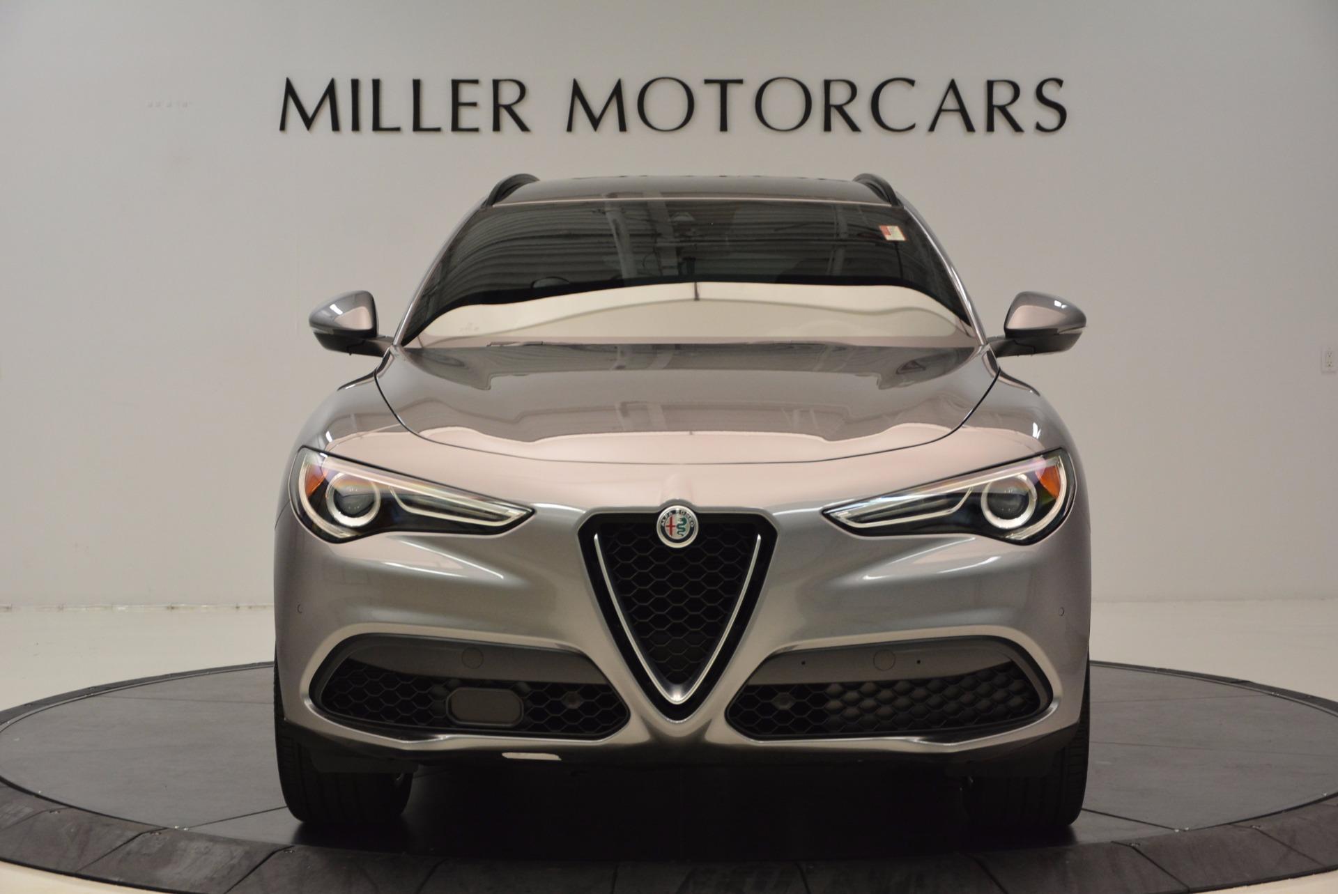 New 2018 Alfa Romeo Stelvio Ti Sport Q4 For Sale In Greenwich, CT 1411_p12