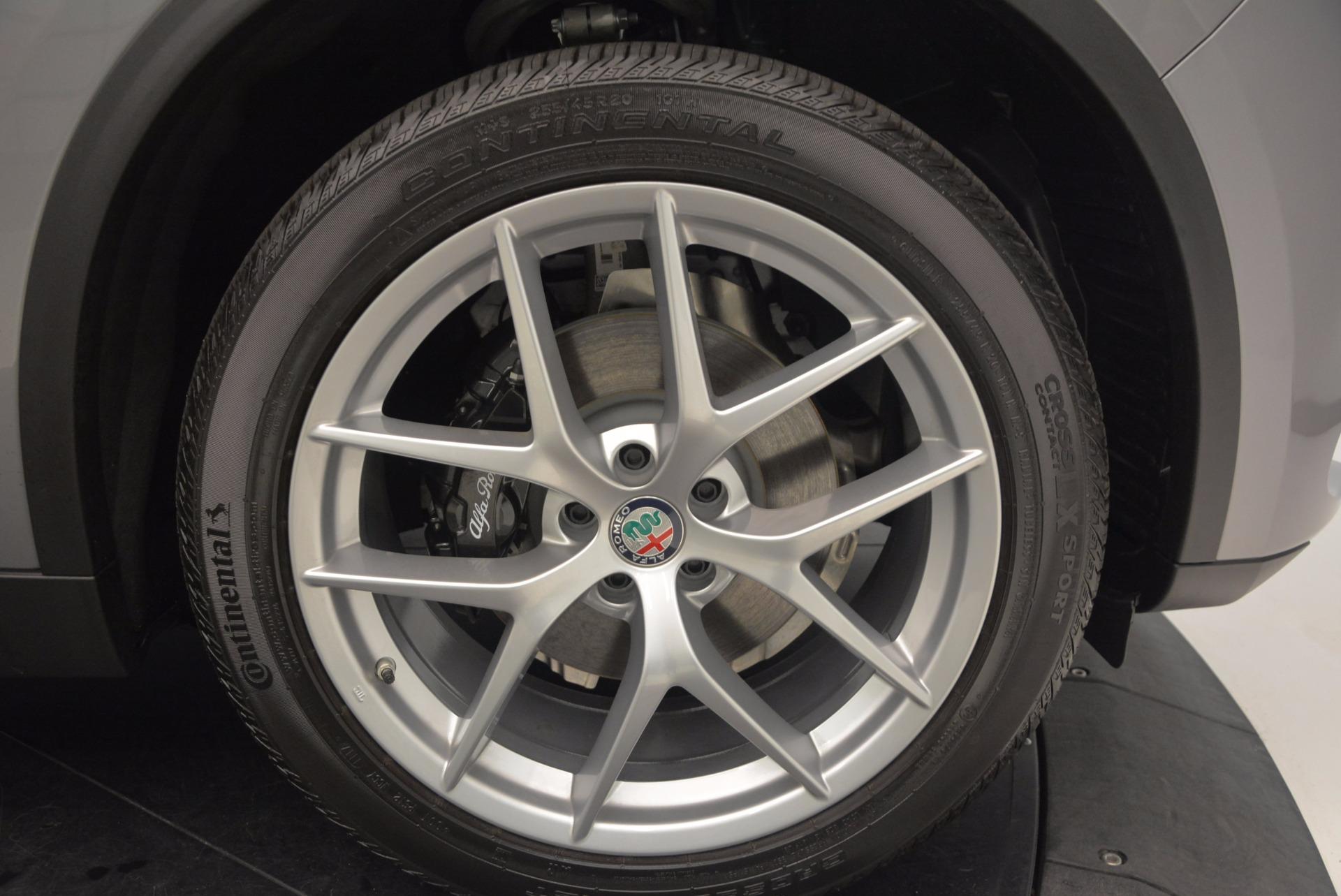 New 2018 Alfa Romeo Stelvio Ti Sport Q4 For Sale In Greenwich, CT 1411_p25