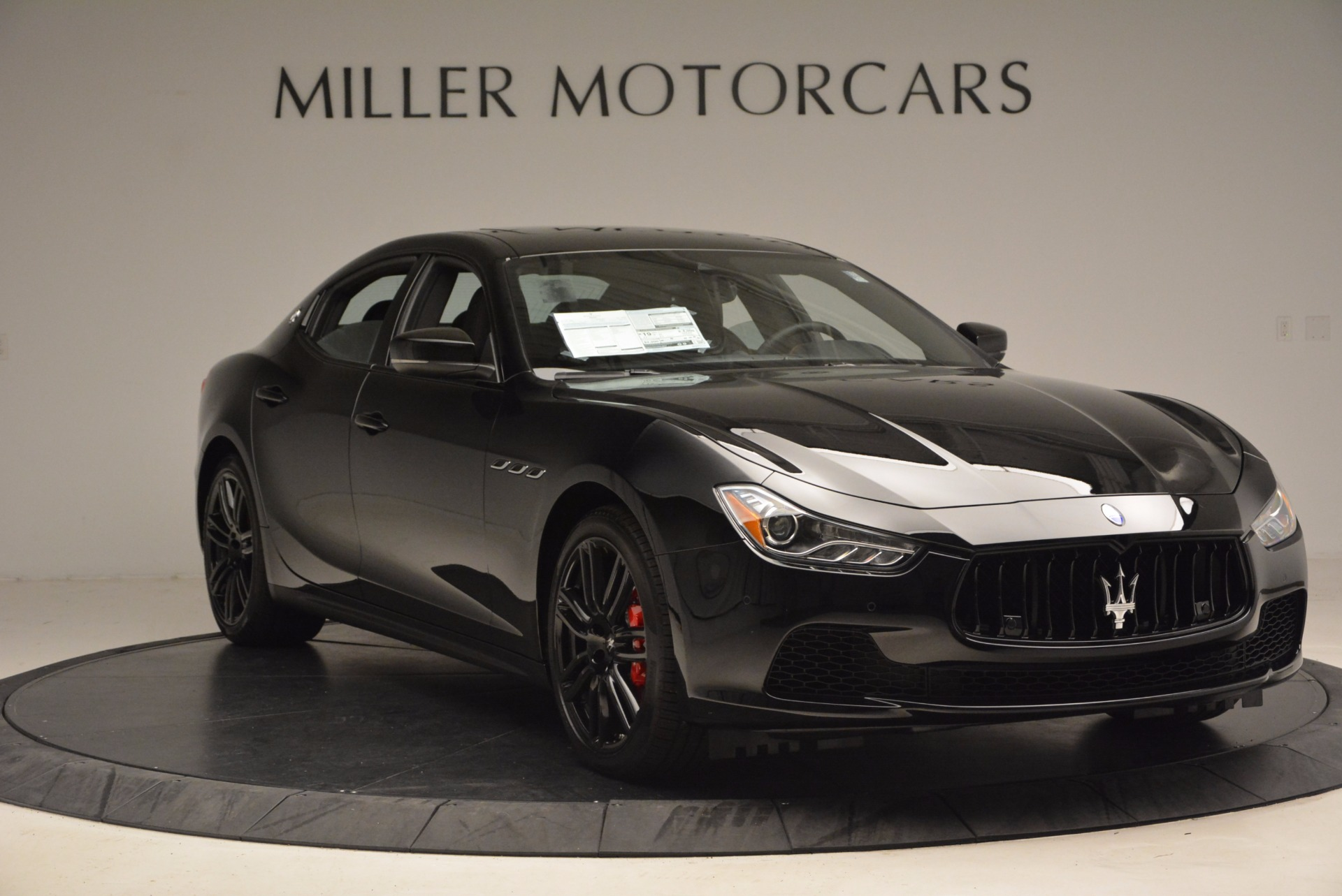 New 2017 Maserati Ghibli Nerissimo Edition S Q4 For Sale In Greenwich, CT 1420_p11