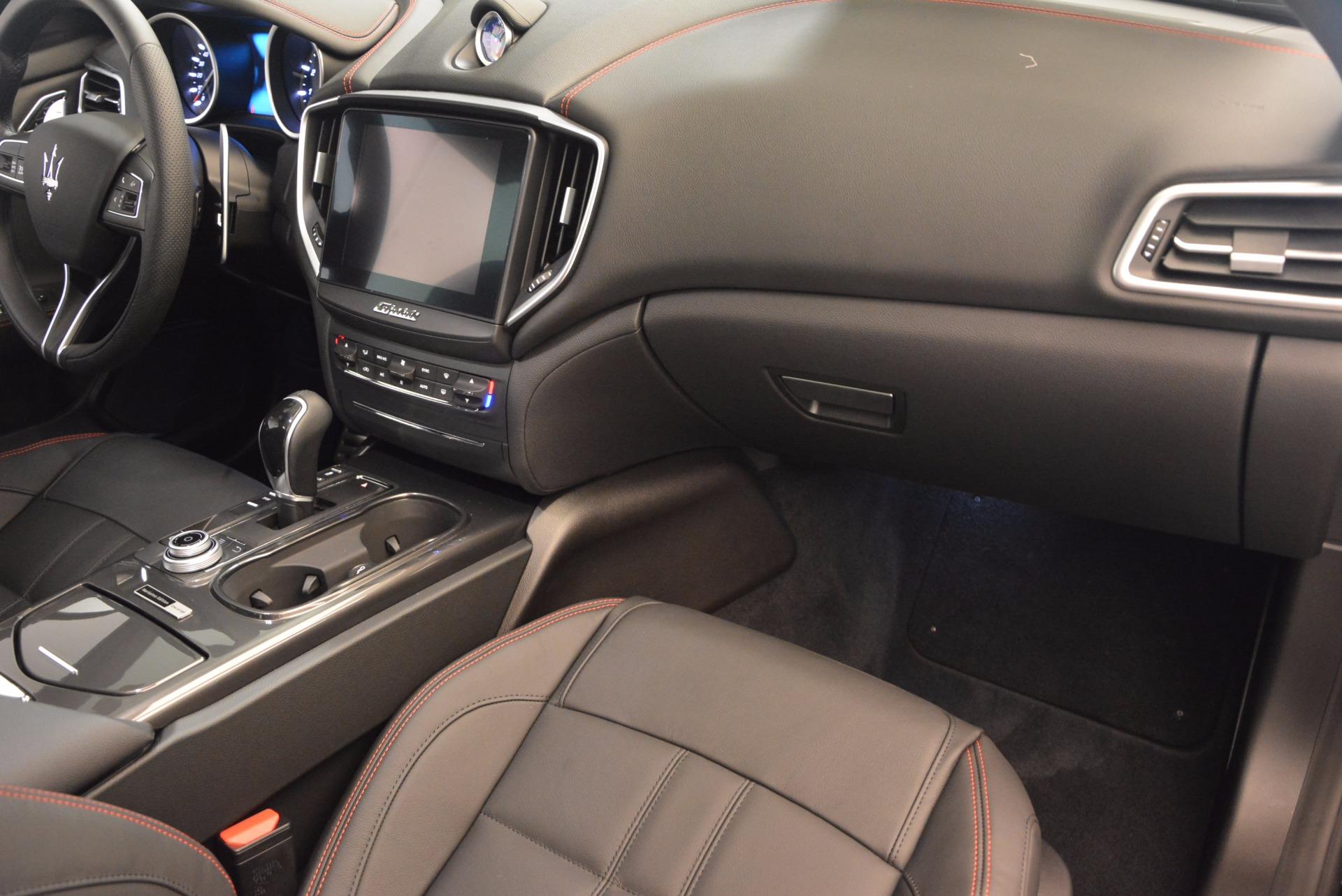 New 2017 Maserati Ghibli Nerissimo Edition S Q4 For Sale In Greenwich, CT 1420_p15