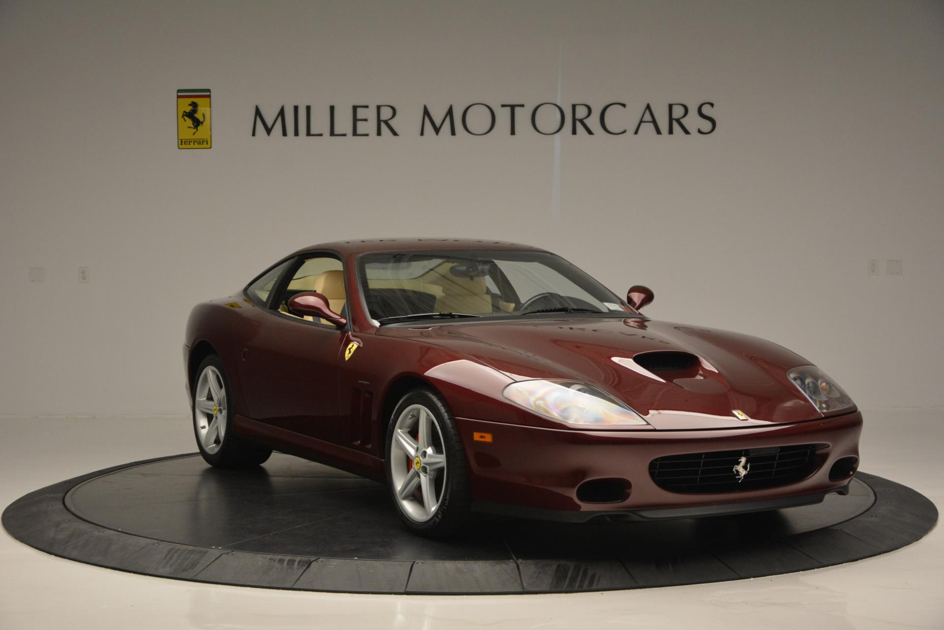 Used 2003 Ferrari 575M Maranello 6-Speed Manual For Sale In Greenwich, CT 143_p11
