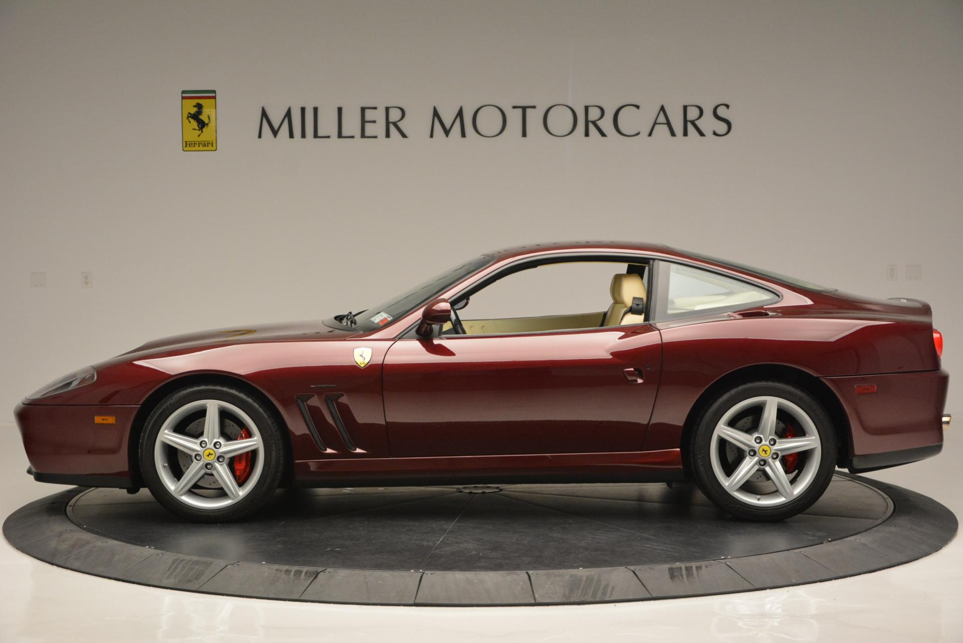 Used 2003 Ferrari 575M Maranello 6-Speed Manual For Sale In Greenwich, CT 143_p3