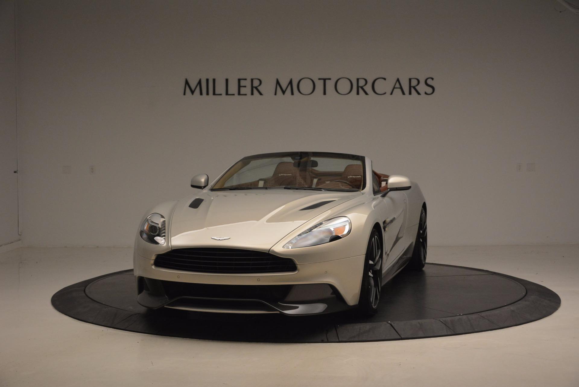 Used 2015 Aston Martin Vanquish Volante For Sale In Greenwich, CT 1448_main