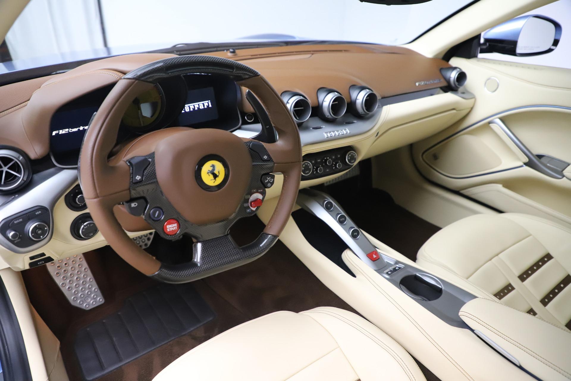 Used 2015 Ferrari F12 Berlinetta  For Sale In Greenwich, CT 1456_p13