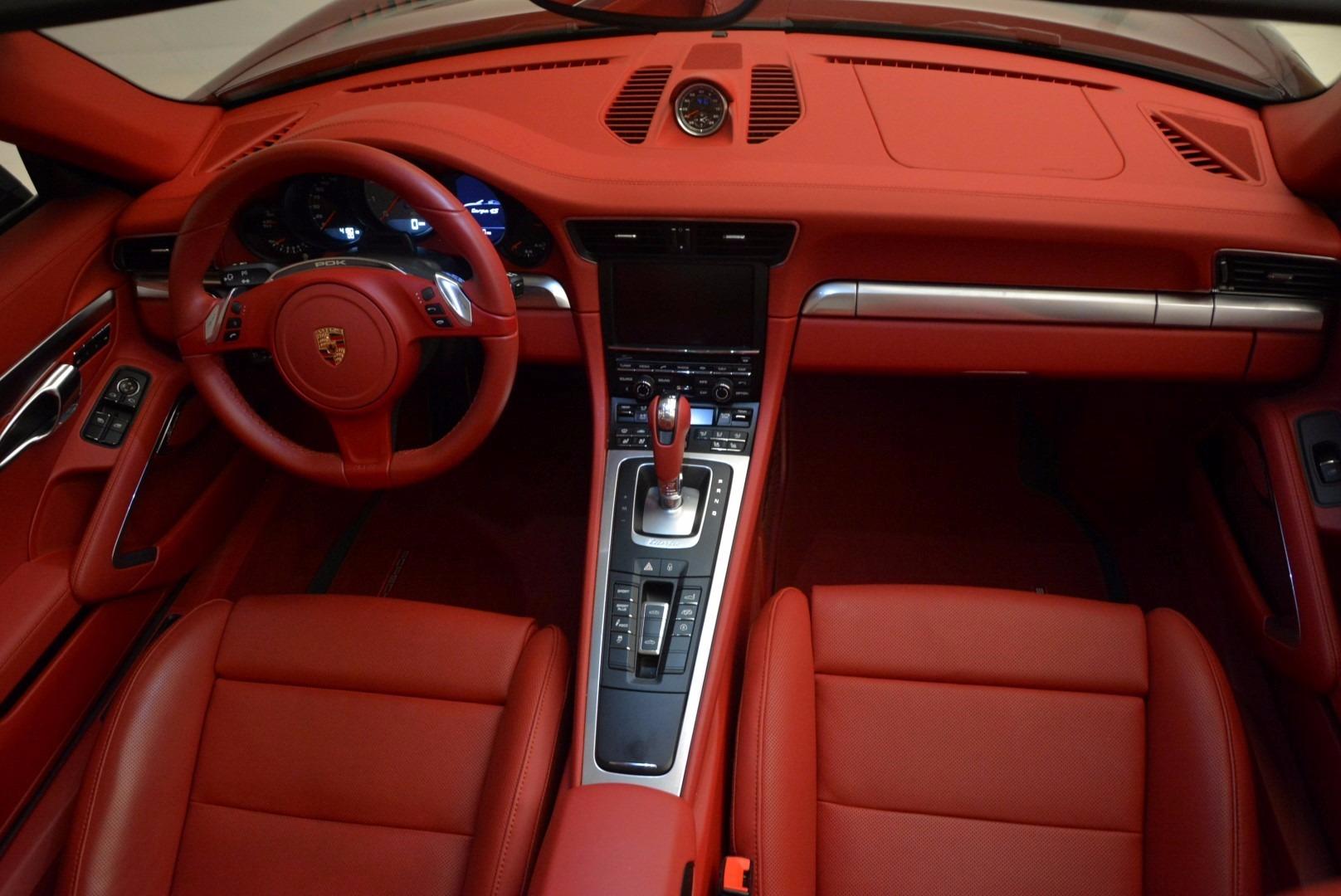Used 2015 Porsche 911 Targa 4S For Sale In Greenwich, CT 1476_p24